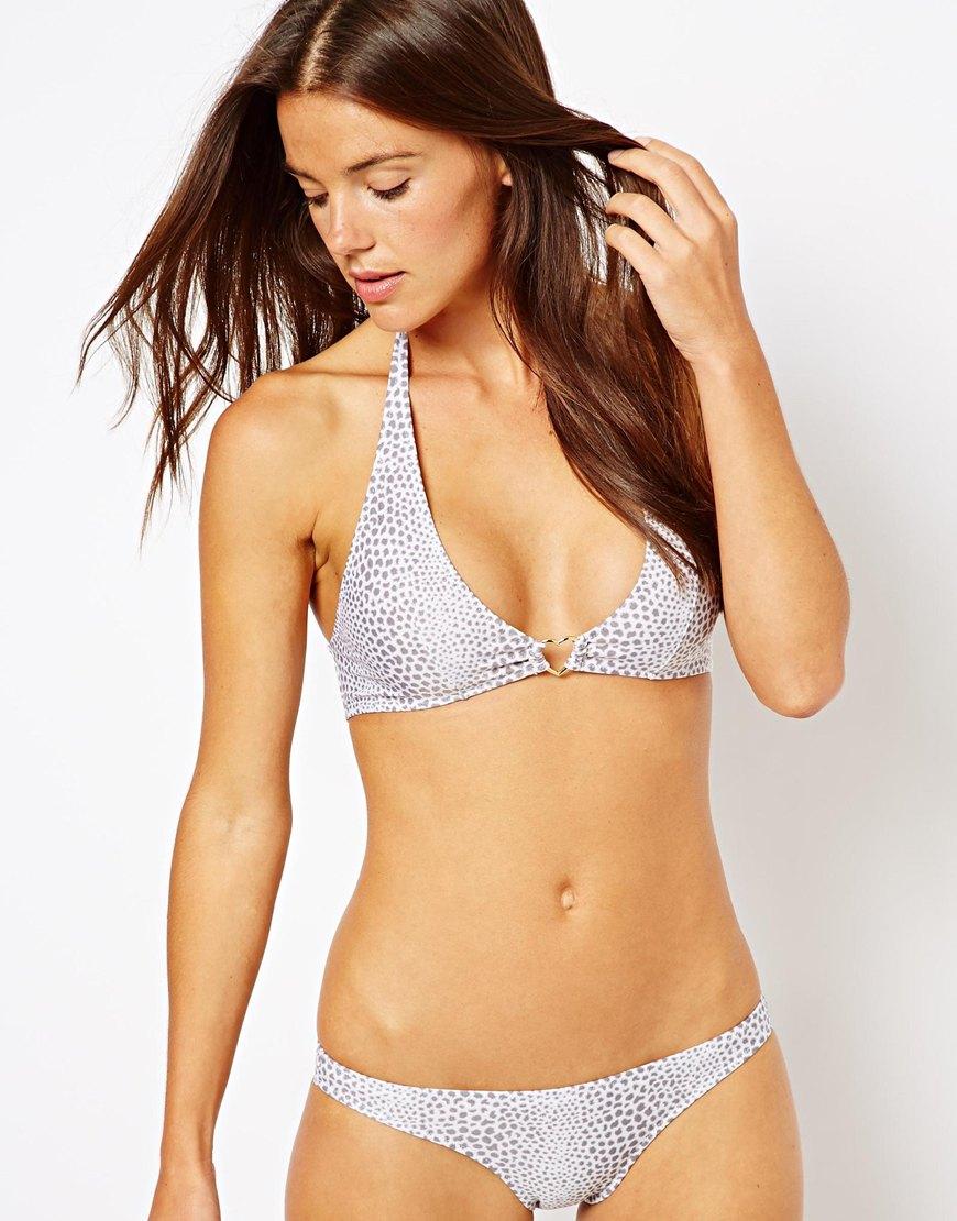 silver foil bikini