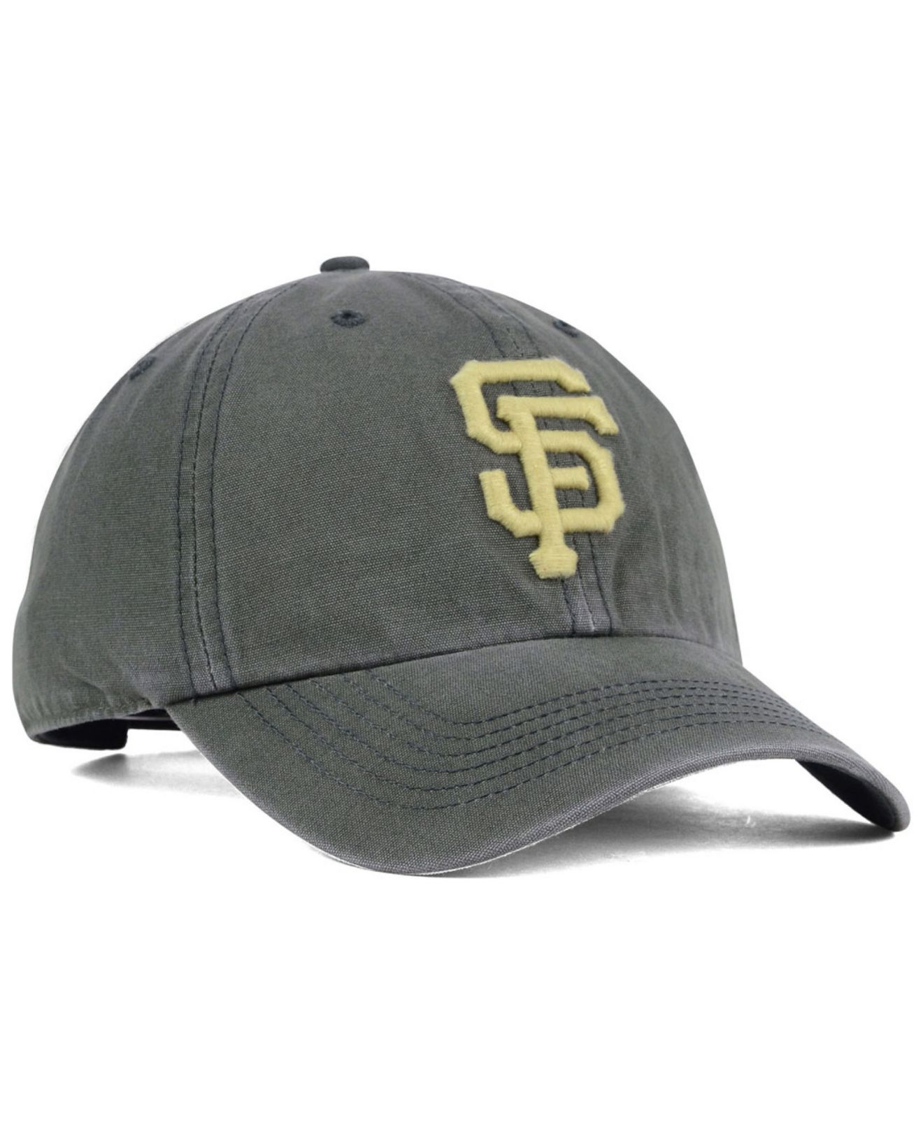 newest collection 23445 50a1d ... australia lyst 47 brand san francisco giants stillwater clean up cap in  gray 4888b 8534b ...