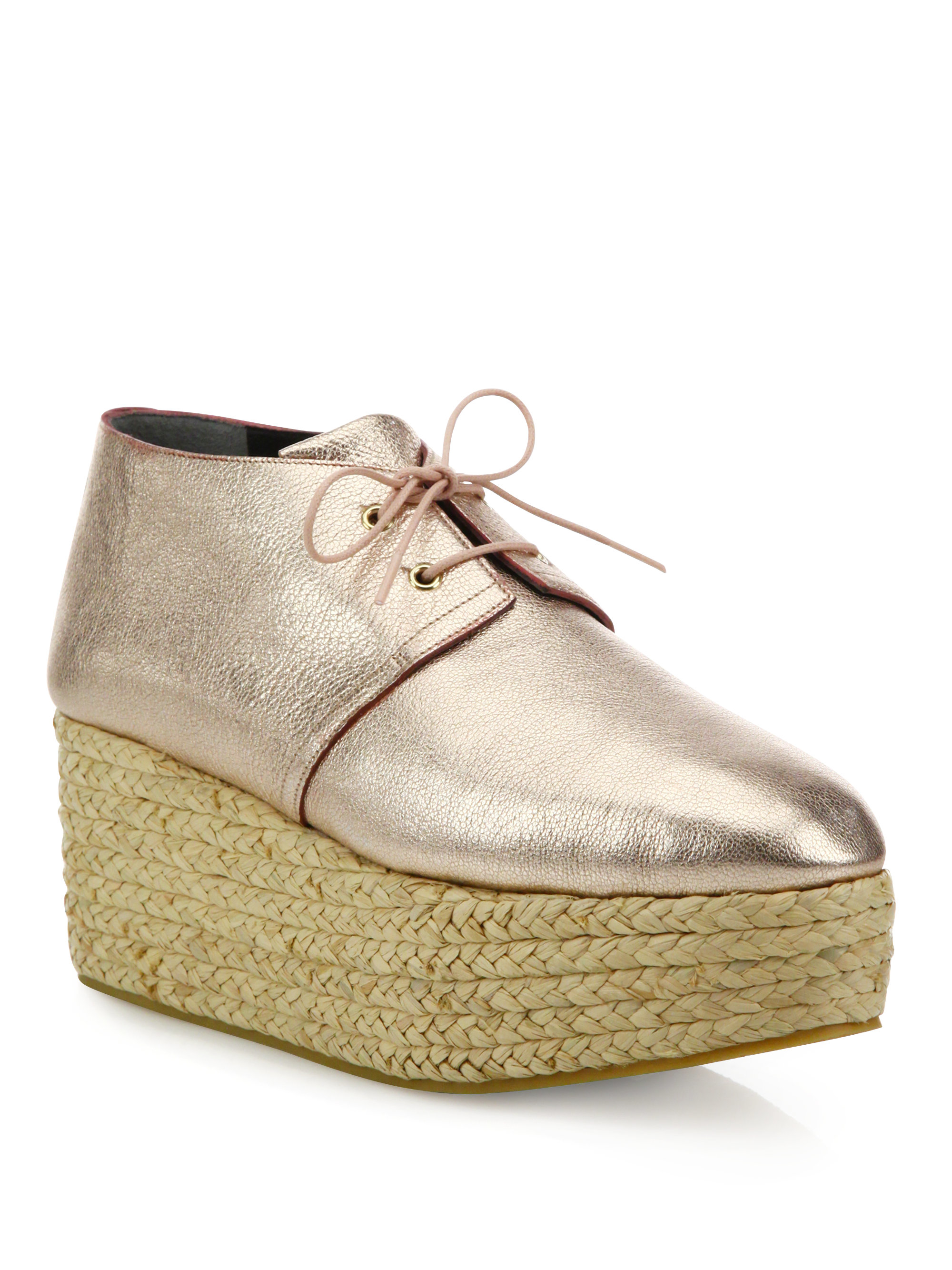 Robert Clergerie Leather Espadrille Sandals cheap order cheap 2015 new arrival cheap online clearance DdglMY