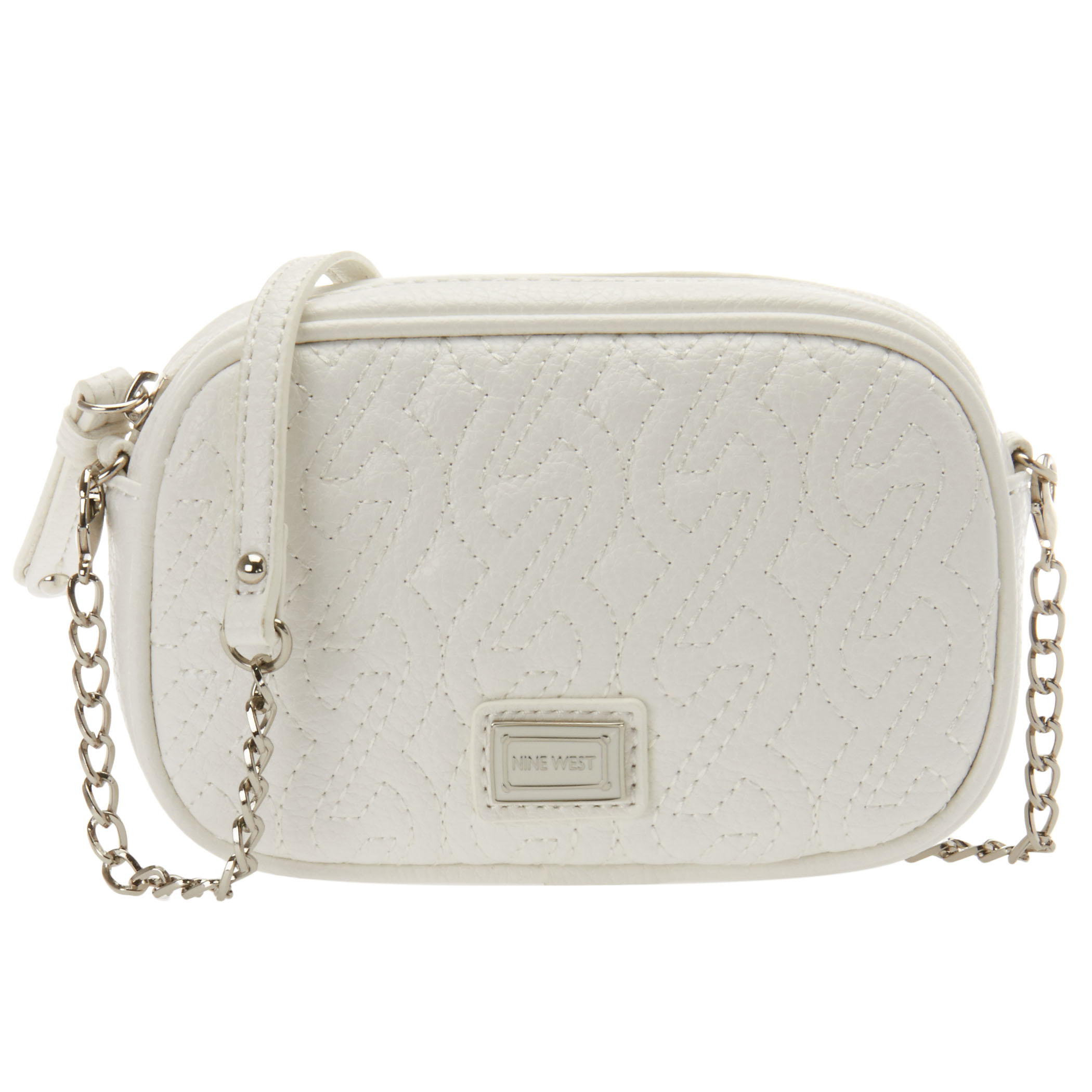 White Chain Crossbody Bag 33