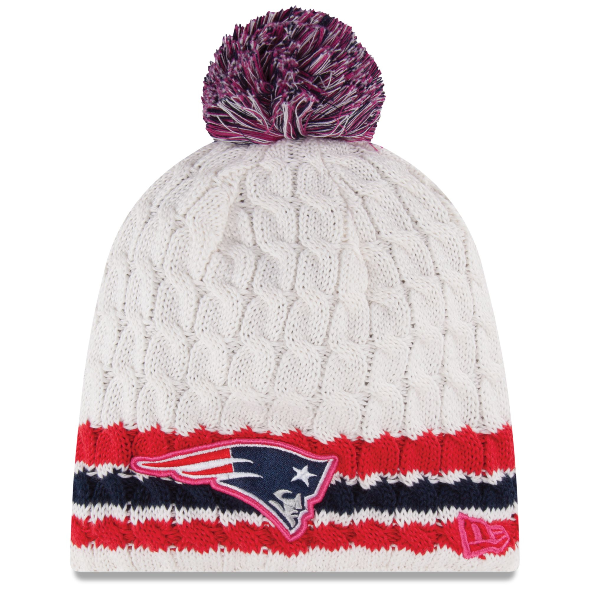 Lyst - KTZ Womens New England Patriots Breast Cancer Awareness Knit ... ab45083a1