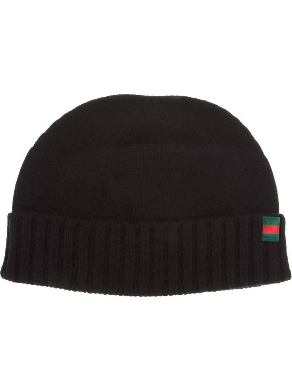 770b3d97d30b7 Gucci Beanie Hat in Black for Men