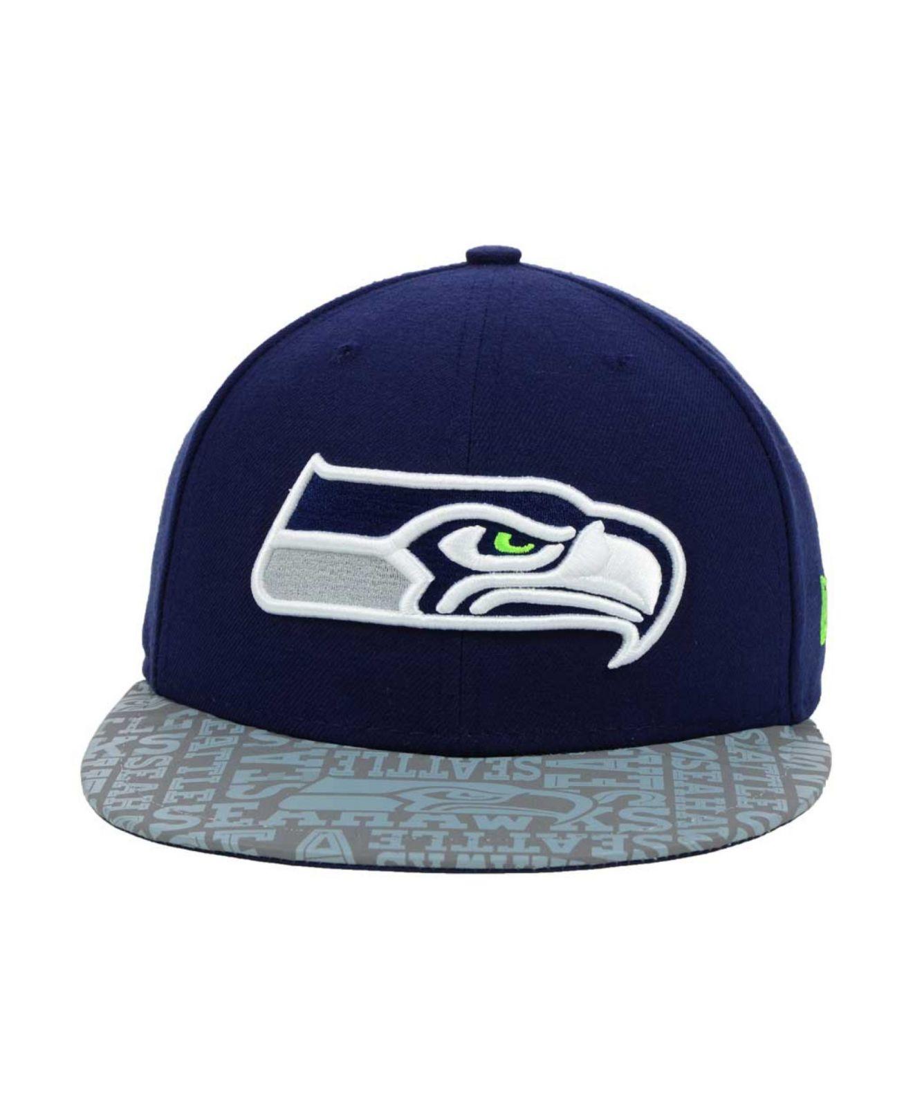 71543433e7a ... denmark wholesale lyst ktz seattle seahawks nfl draft 59fifty cap in  gray for men 6a62f 77552