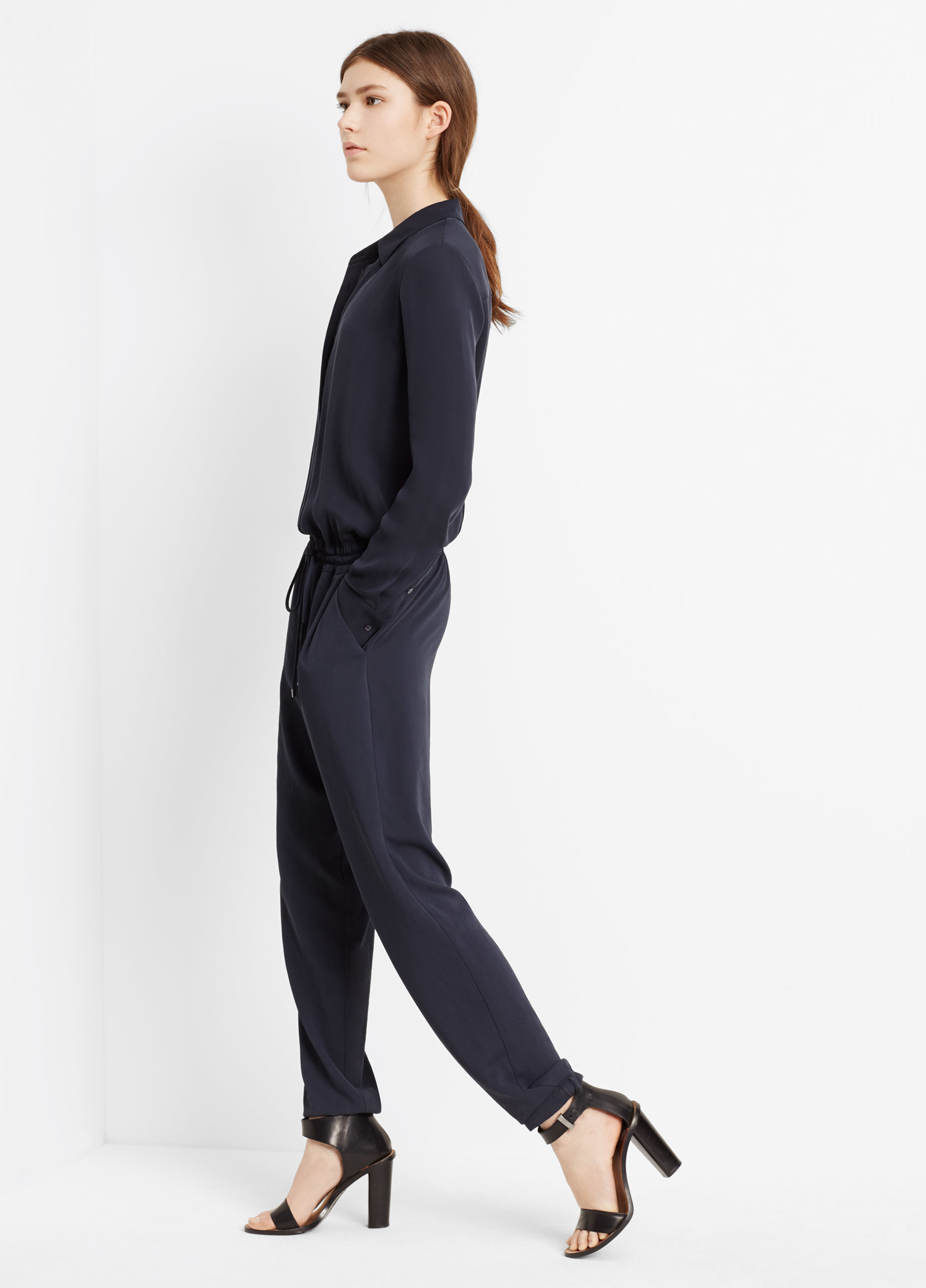 Collection Long Sleeved Jumpsuit Pictures - Reikian