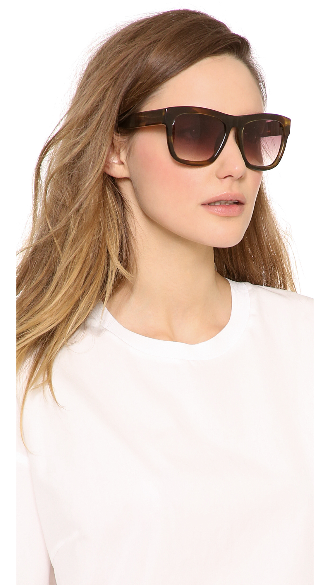 3.1 Phillip Lim Cat Eye Tinted Sunglasses - Rose gold 3.1 Phillip Lim vDTjc