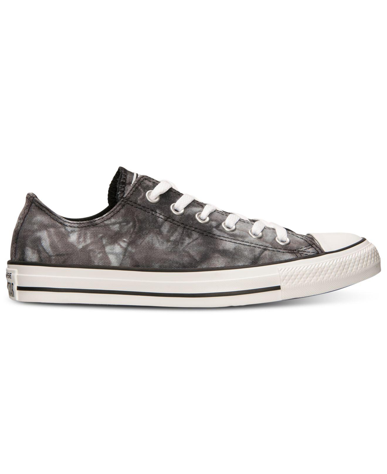 67de5fffc0b812 Lyst - Converse Women S Chuck Taylor Ox Tie Dye Casual Sneakers From ...