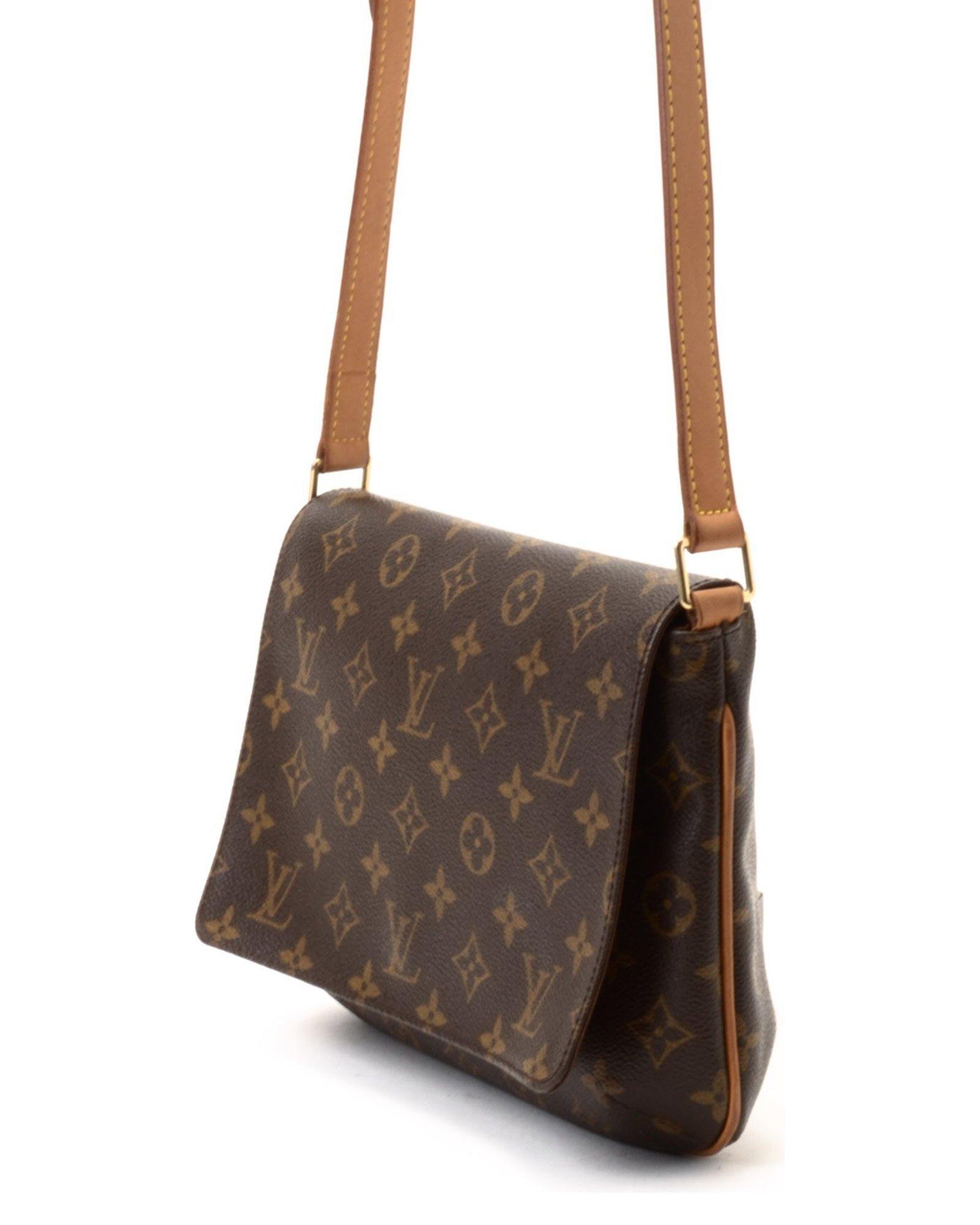 Lyst - Louis Vuitton Shoulder Bag - Vintage in Brown