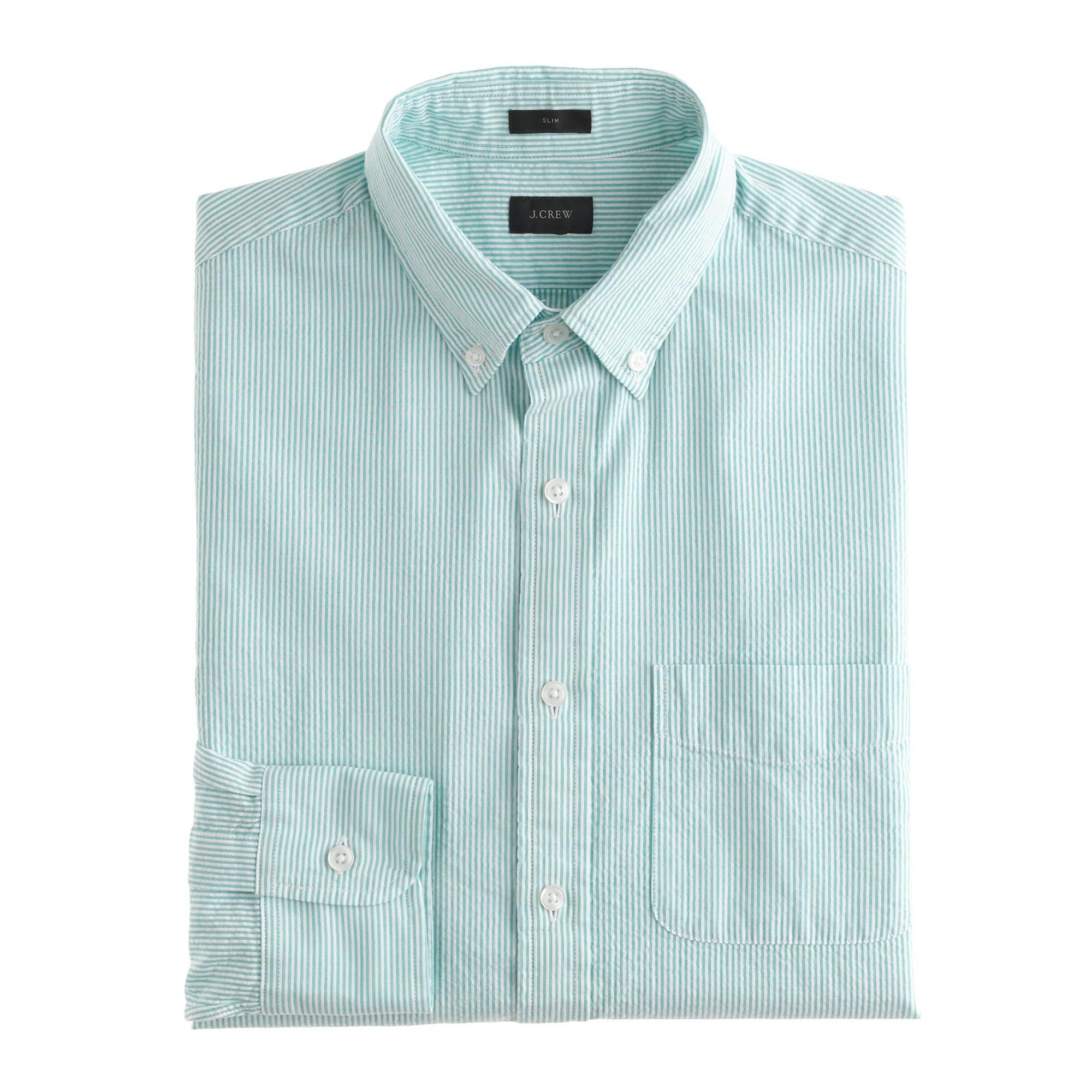 Mens Seersucker Shirts 113