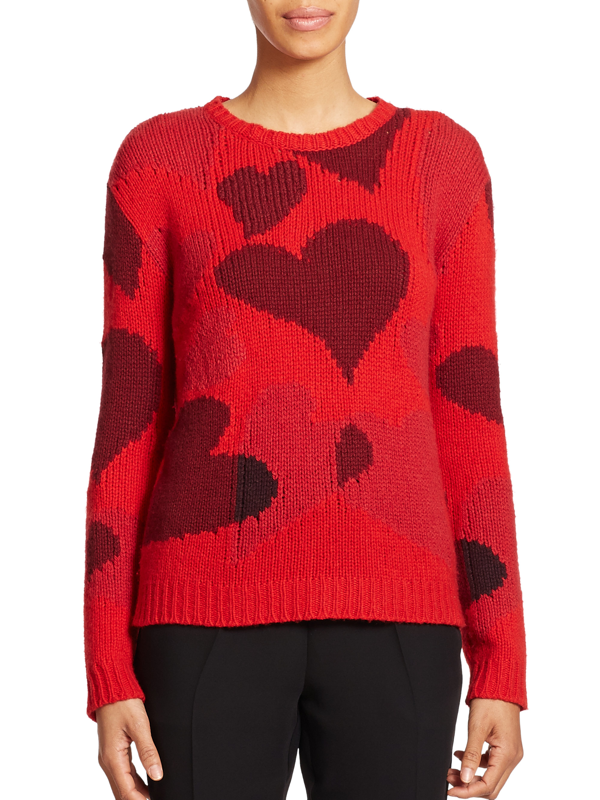 Intarsia Sweater Women