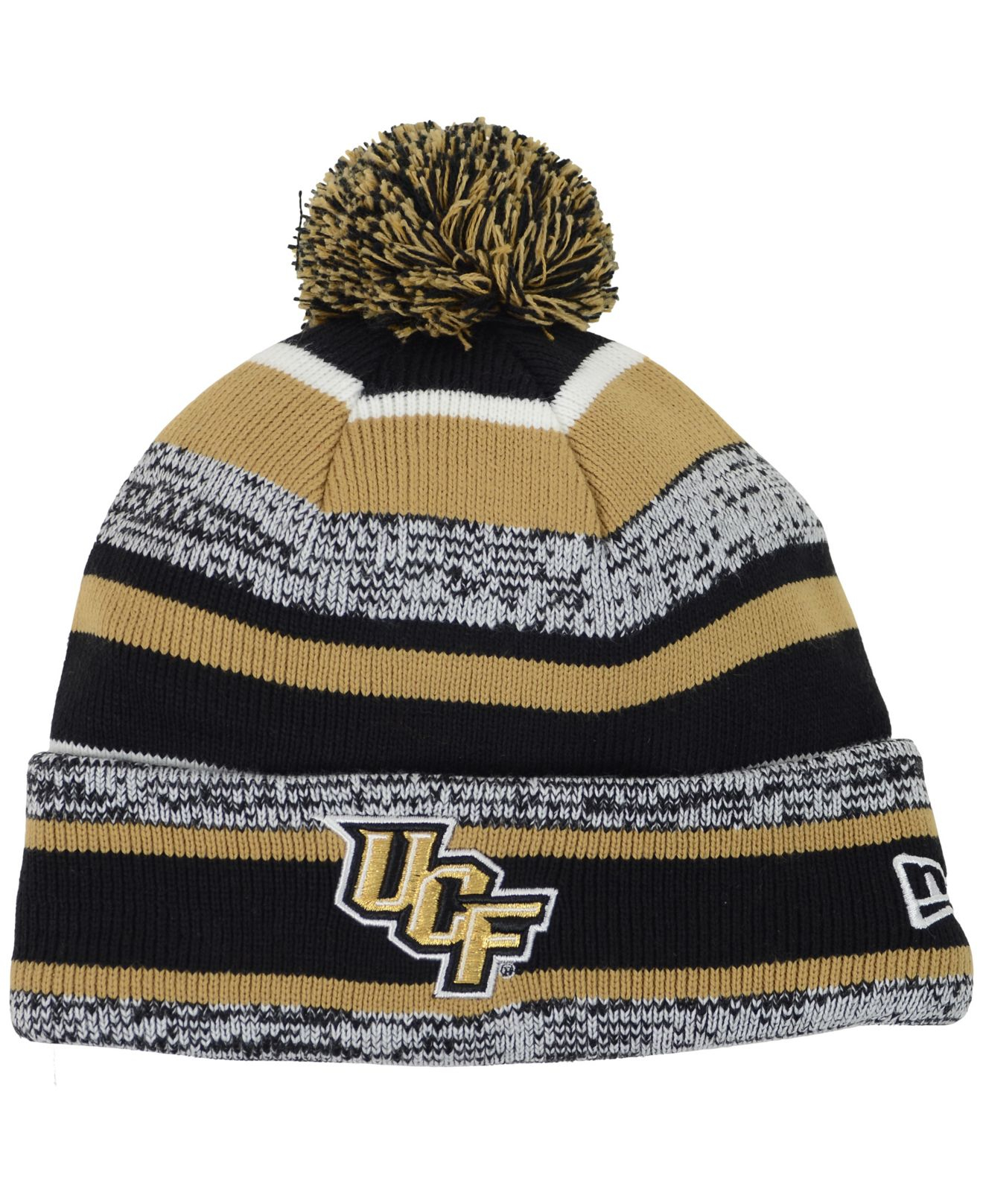 on sale c75b7 f009c ... wholesale lyst ktz ucf knights sport knit hat in black for men dc682  e08e4