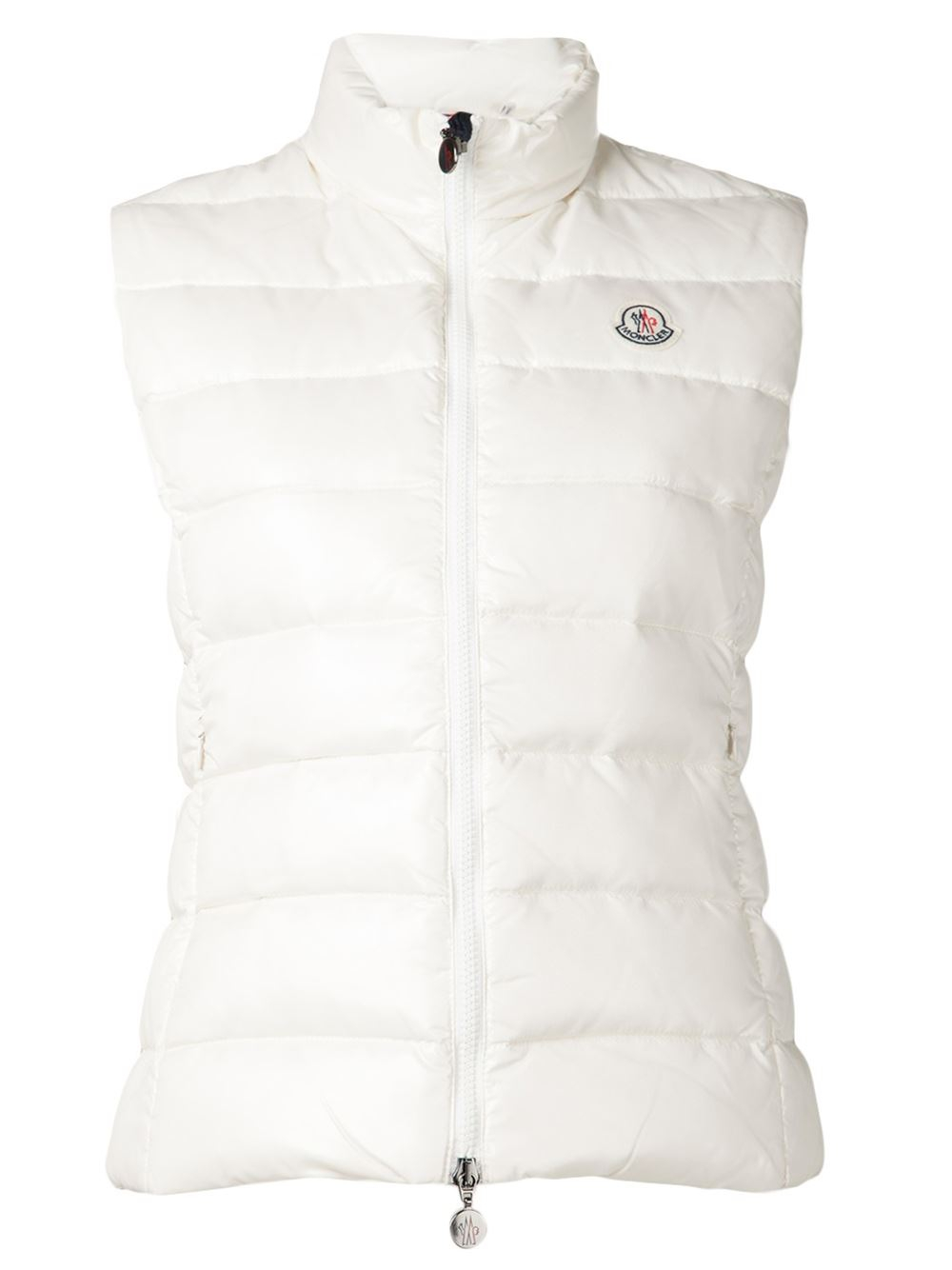 moncler white vest
