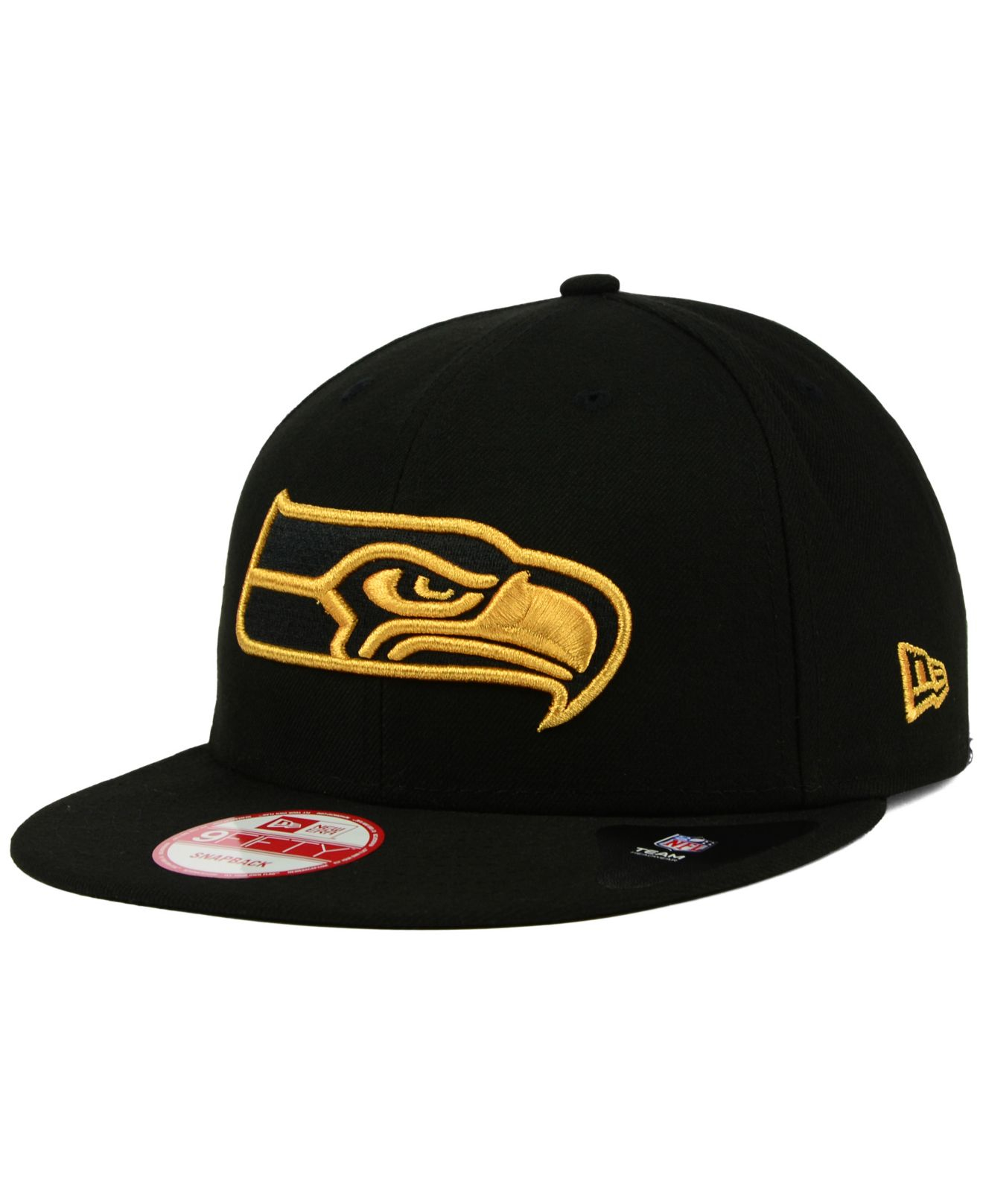 ... norway lyst ktz seattle seahawks black metallic gold 9fifty snapback cap  0aade d11f0 f46cbcf744a0
