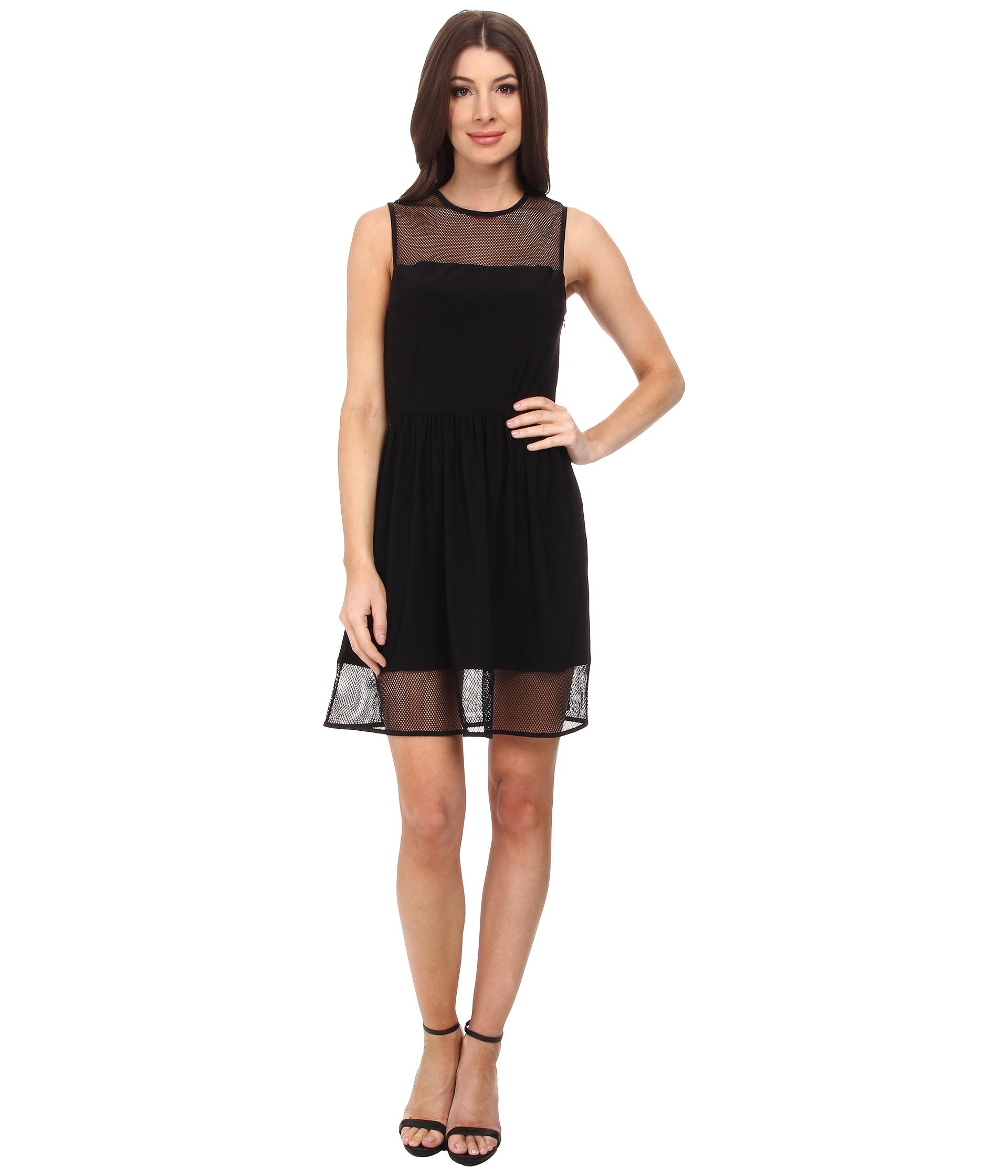 Lydia Dress in Blue Susana Monaco Cheap Sale Big Discount 1gecXq2Mja