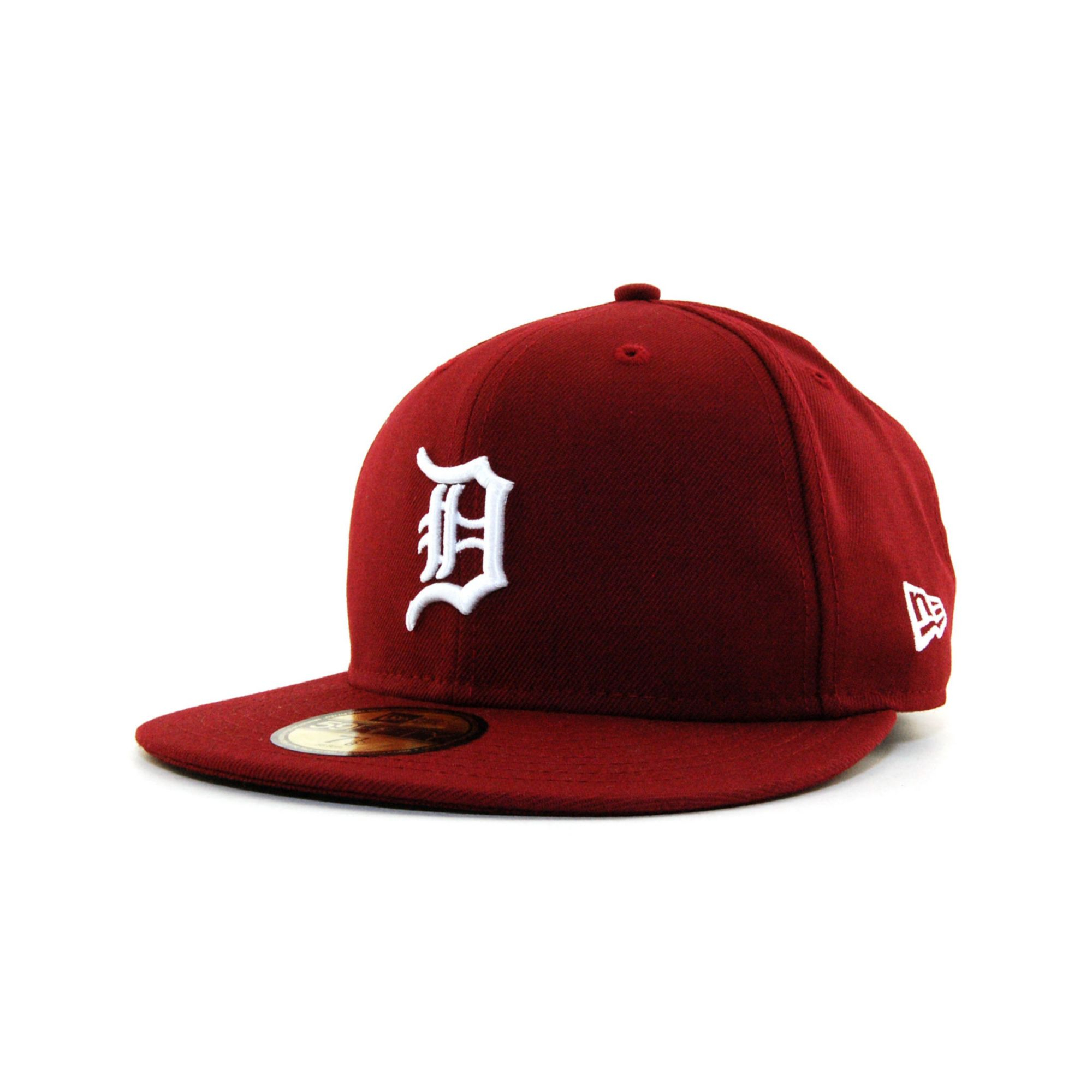 check out 43416 cf0e5 ... france lyst ktz detroit tigers cdub 59fifty cap in red for men 09cc6  0d9e5