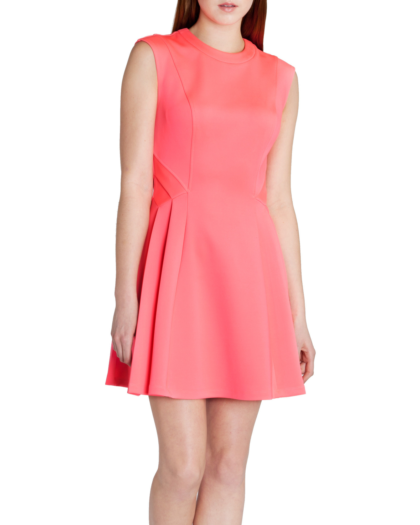 be379f763e2c57 Ted Baker Nistee Skater Dress in Pink - Lyst