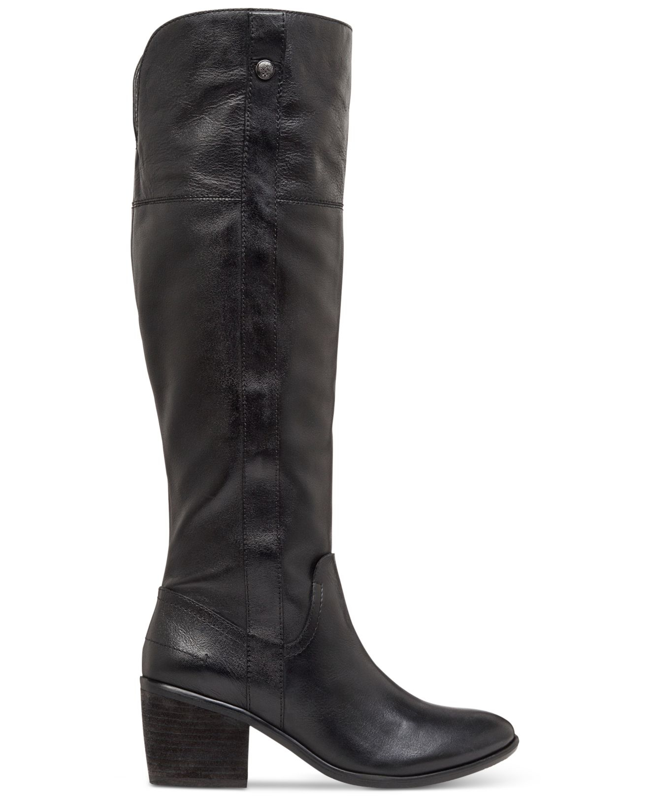 Lyst Vince Camuto Mordona Wide Calf Tall Boot In Black