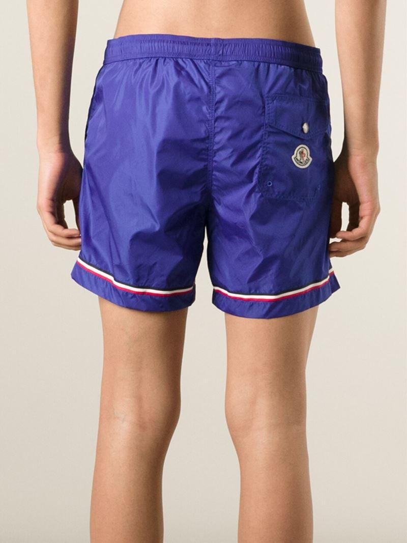 moncler blue shorts