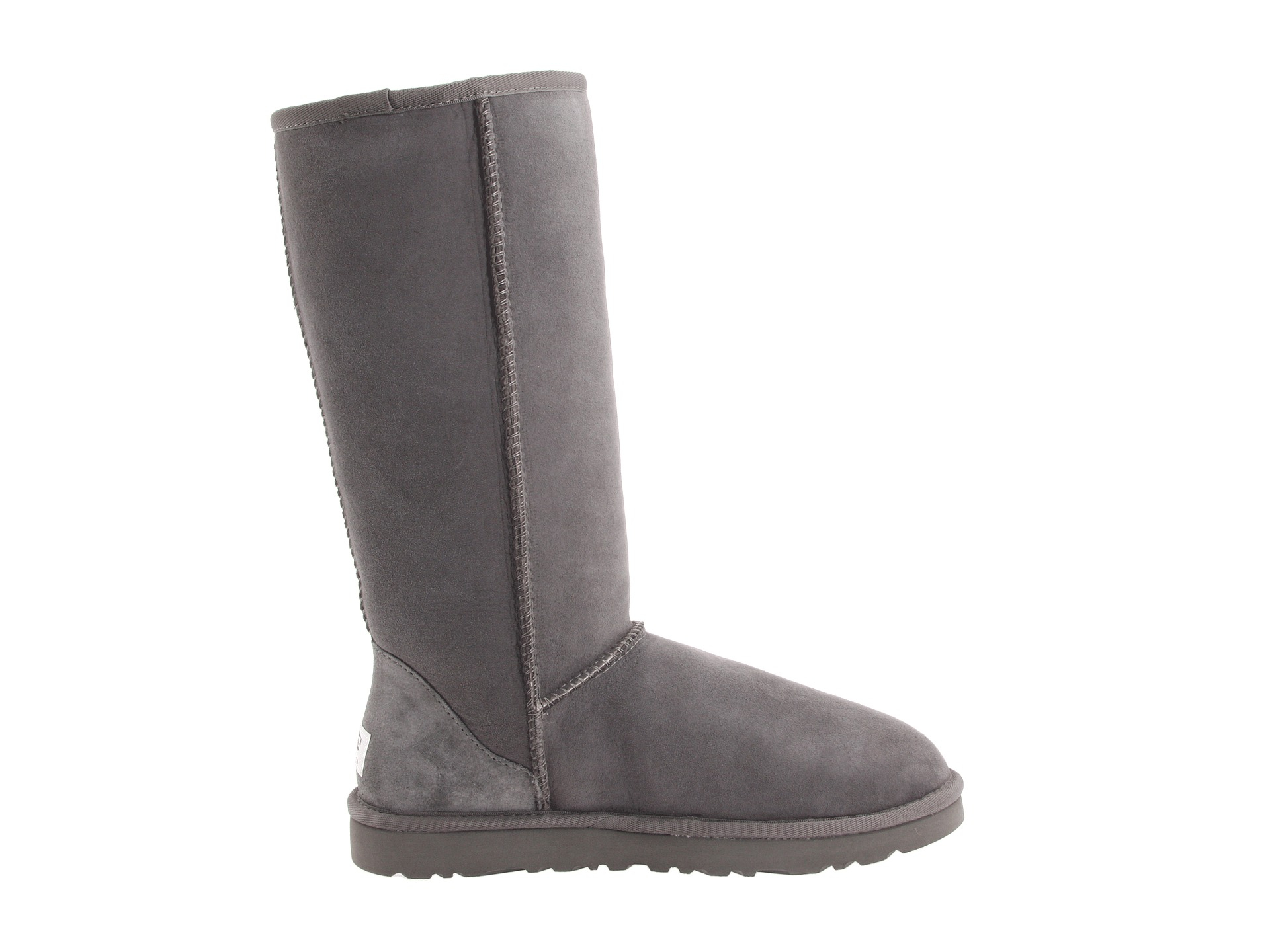 tall grey uggs