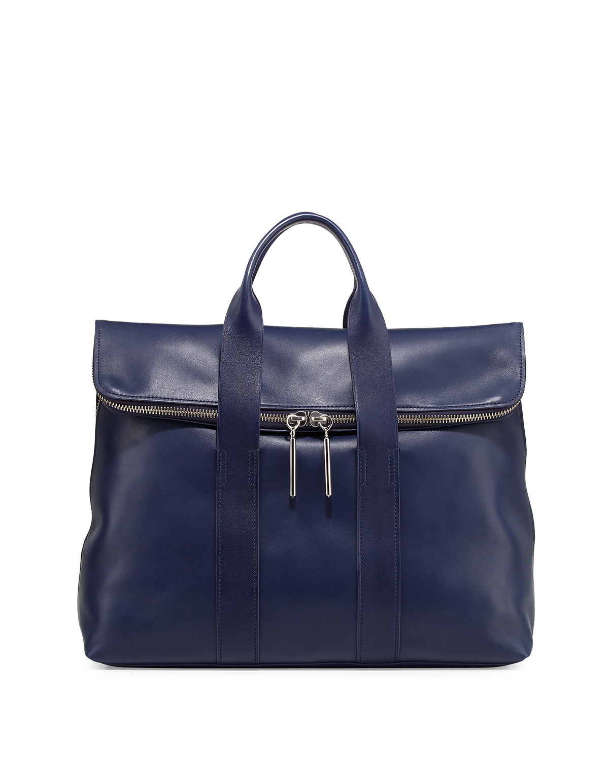 31 Toe Nail Art Designs Ideas: 3.1 Phillip Lim 31-hour Fold-over Tote Bag In Blue (NAVY
