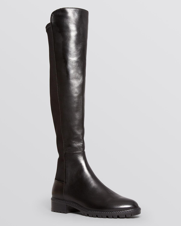 Stuart weitzman Lugmainline Stretch Flat Tall Boots ...