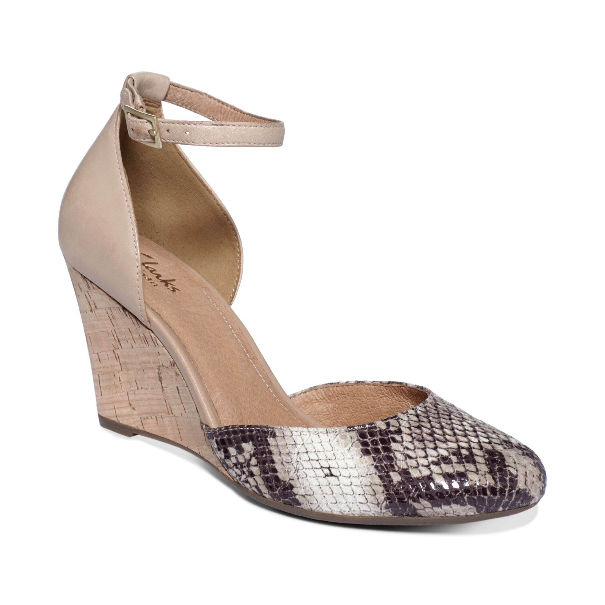 Clarks Womens Artisan Purity High Line Wedges Lyst