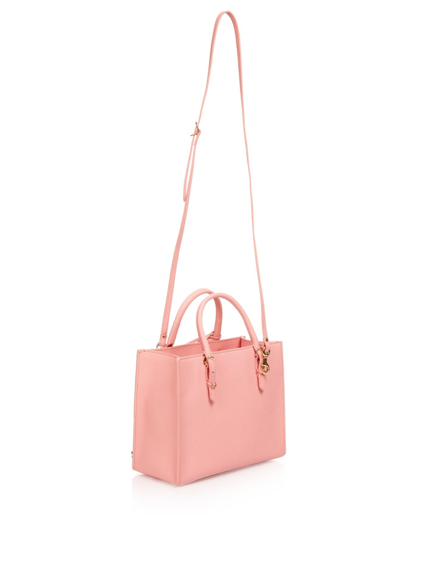 7ca630ac56 Balenciaga Papier A6 Metallic-Edge Leather Shoulder Bag in Pink - Lyst