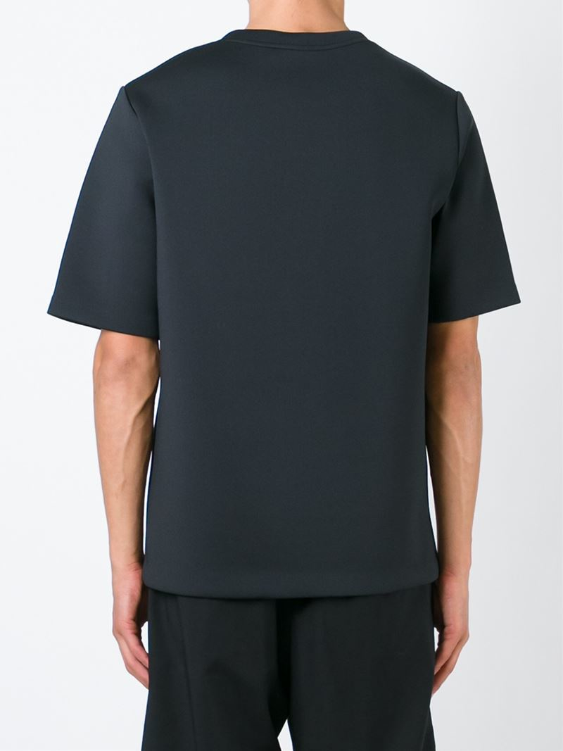 Alexander wang Printed Neoprene T-Shirt in Black for Men ...