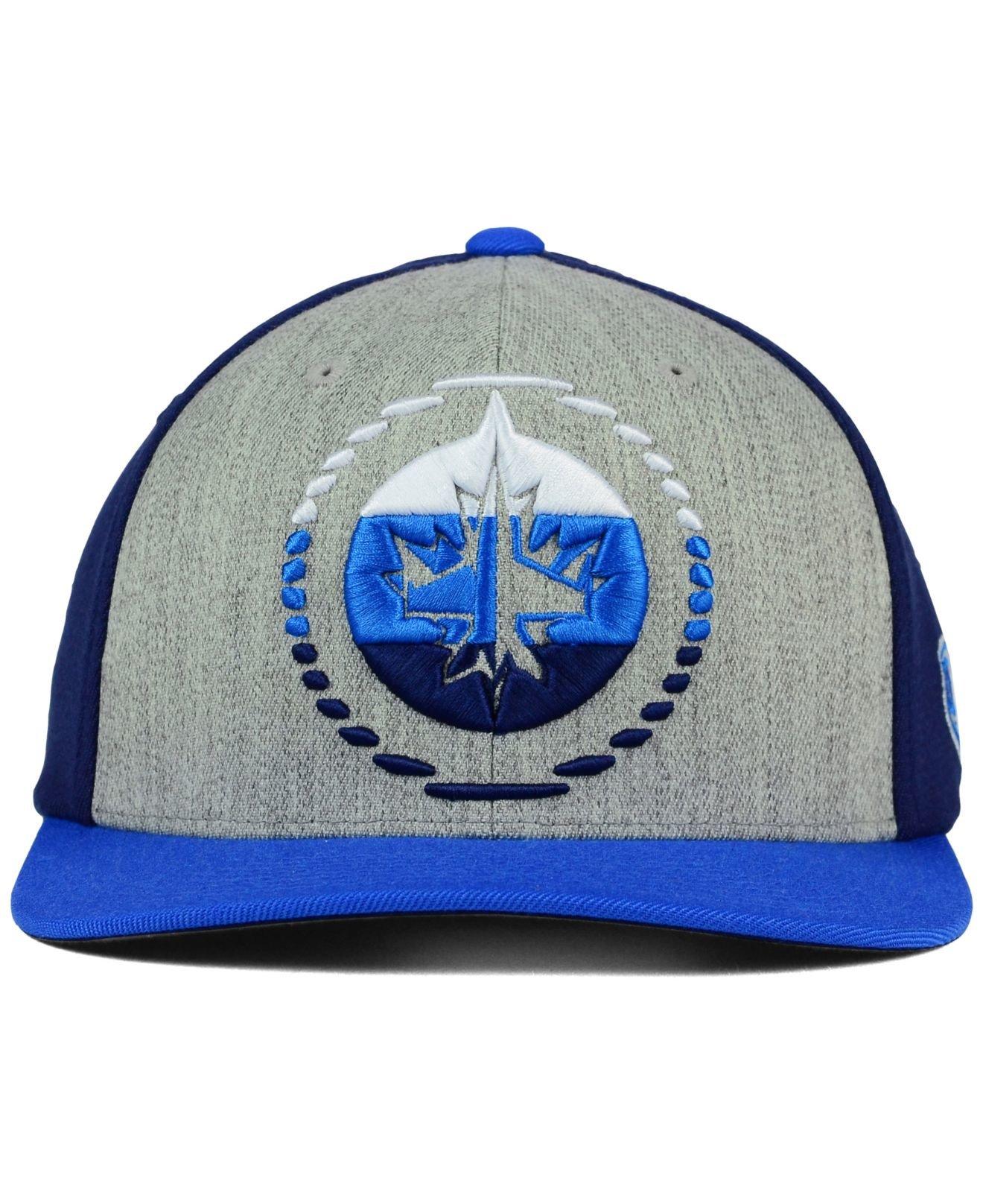 low priced 25952 fd010 spain lyst old time hockey winnipeg jets win streak flex cap in gray for men  edbab