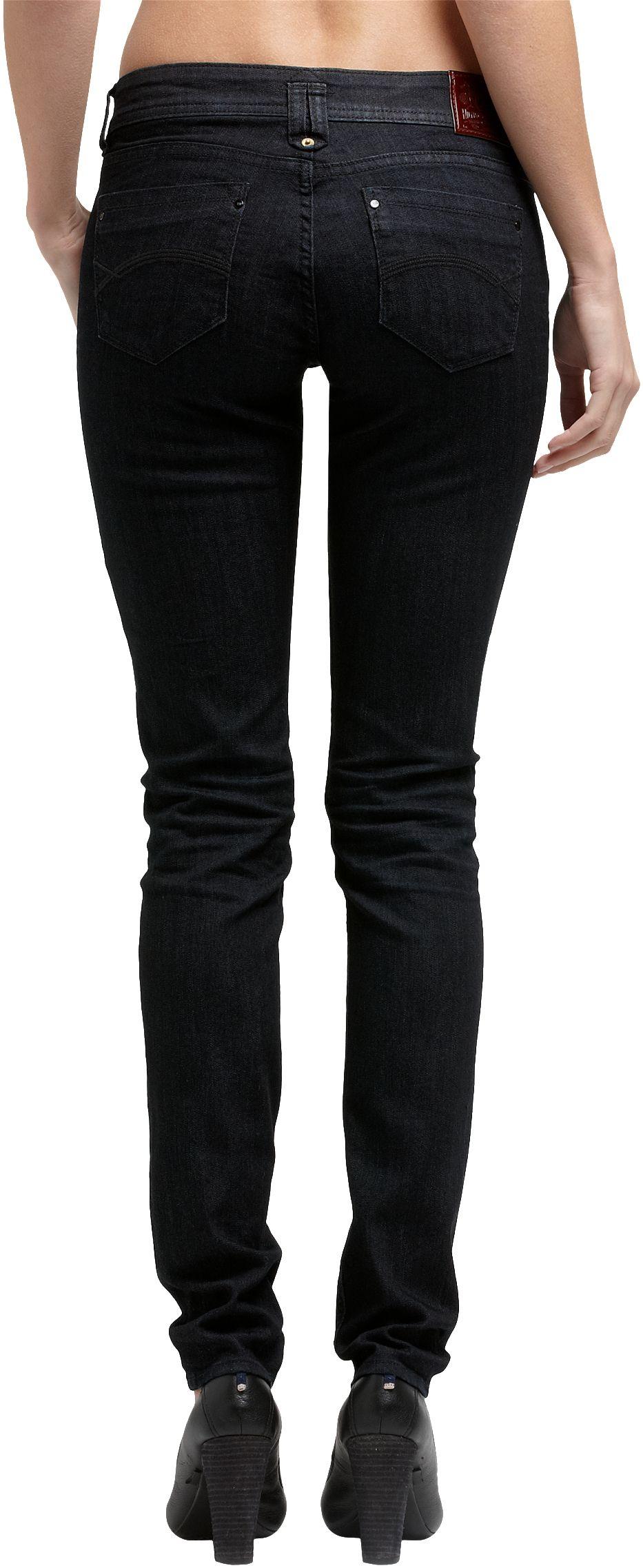 tommy hilfiger natalie skinny jean in black lyst. Black Bedroom Furniture Sets. Home Design Ideas