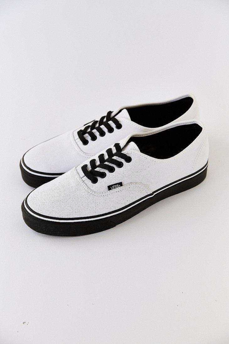 Vans Mens Authentic Leather Shoe