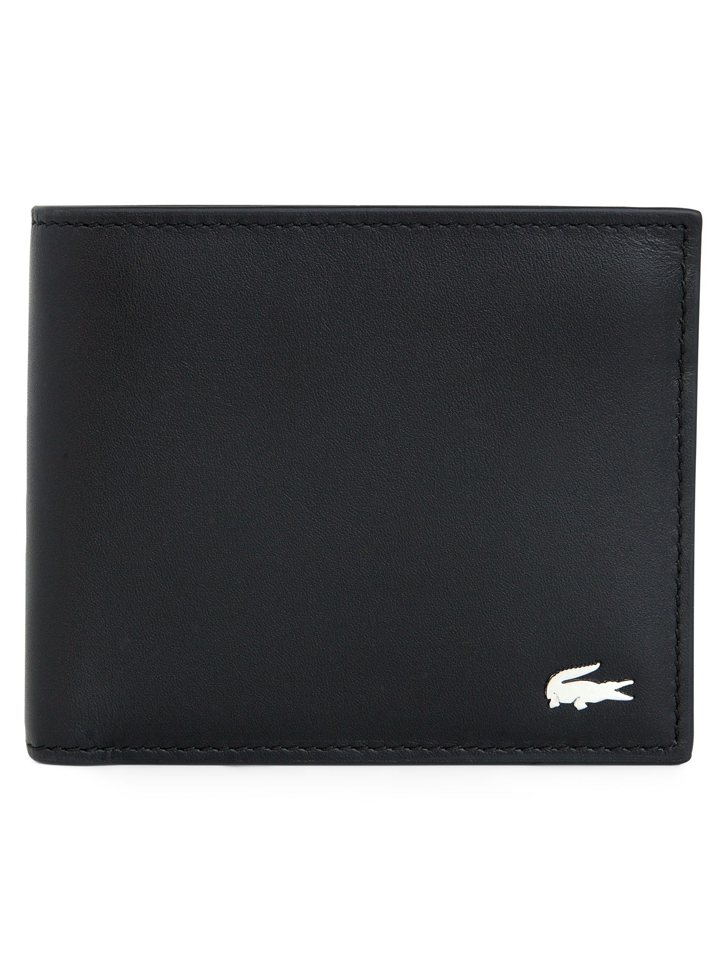 Leather wallet lacoste