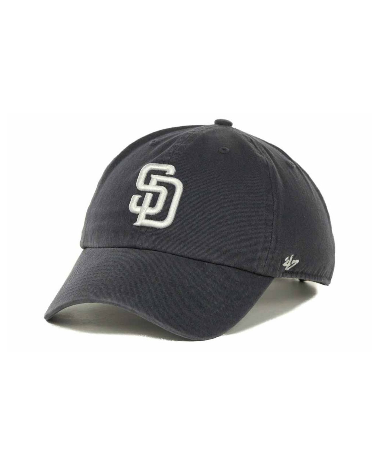 e515aa0b816df ... purchase lyst 47 brand san diego padres clean up hat in blue for men  6b6ef dca1f