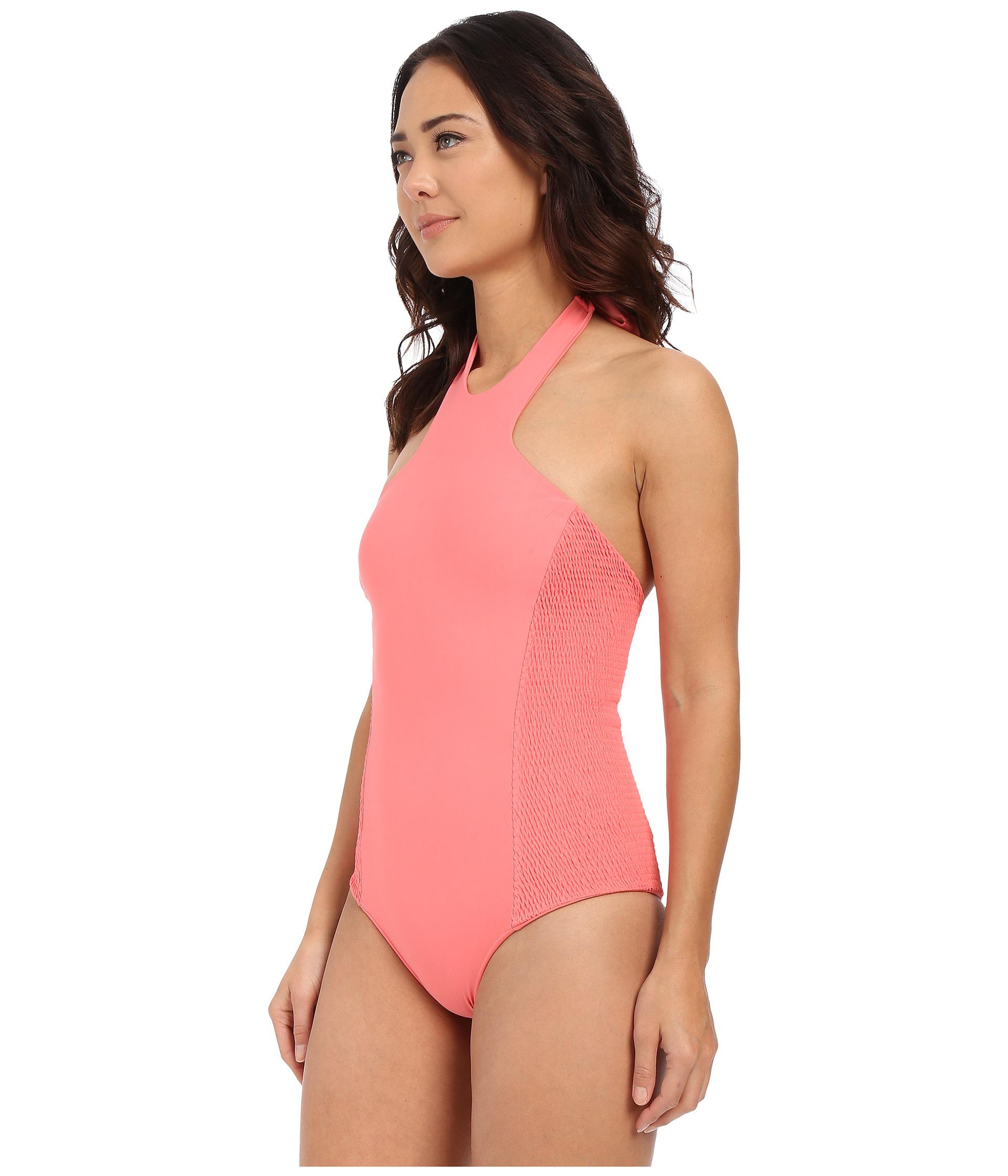 3e853116baa958 Gallery. Previously sold at: Zappos · Women's Seafolly Goddess Boyleg Women's  High Neck Bikini ...