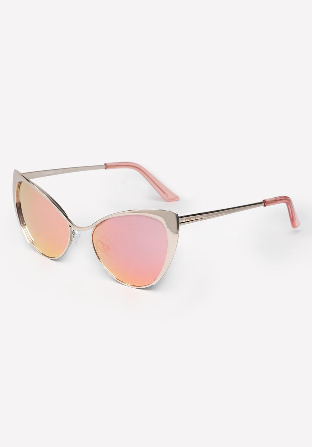 Bebe Glarus Cat Eye Sunglasses In Pink Lyst
