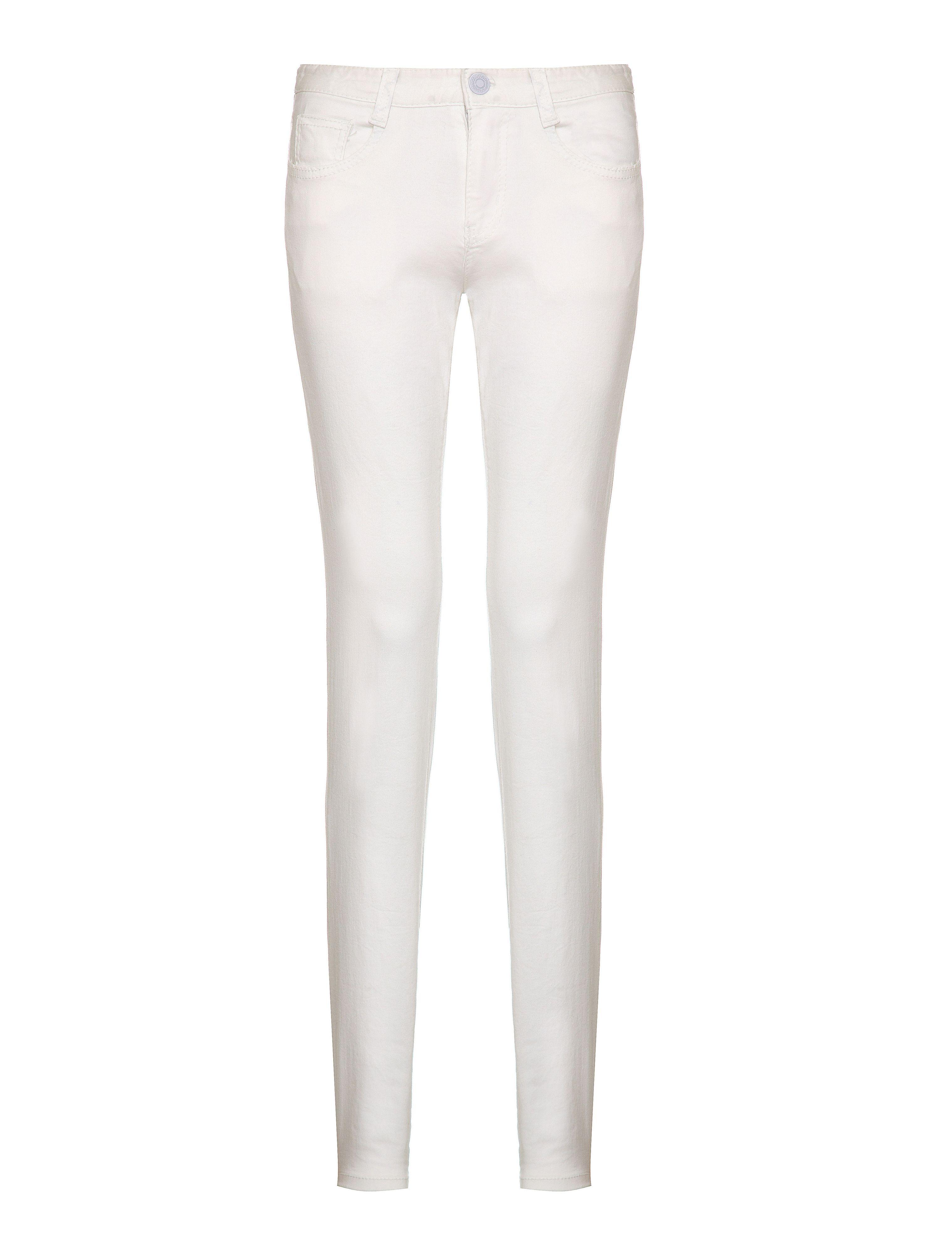 White Colour Jeans - Jeans Am