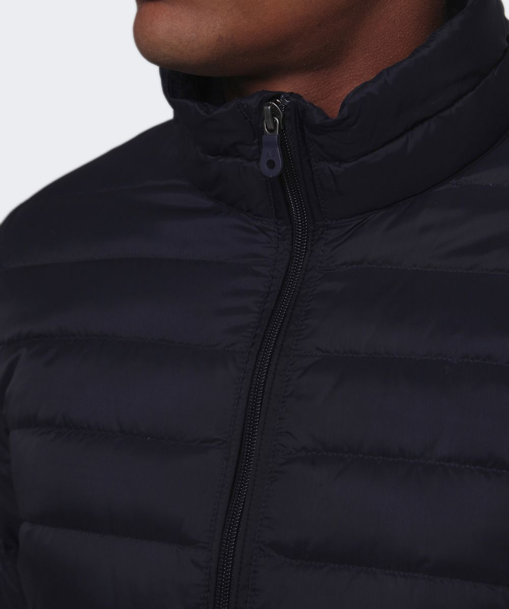 Armani jeans Down Quilted Jacket in Blue for Men   Lyst : armani jeans quilted jacket - Adamdwight.com