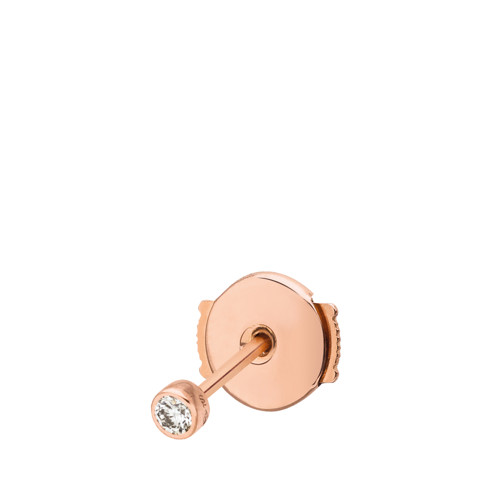 Vanrycke Exclusive - Mono earring Im In Love 750 gold and diamonds