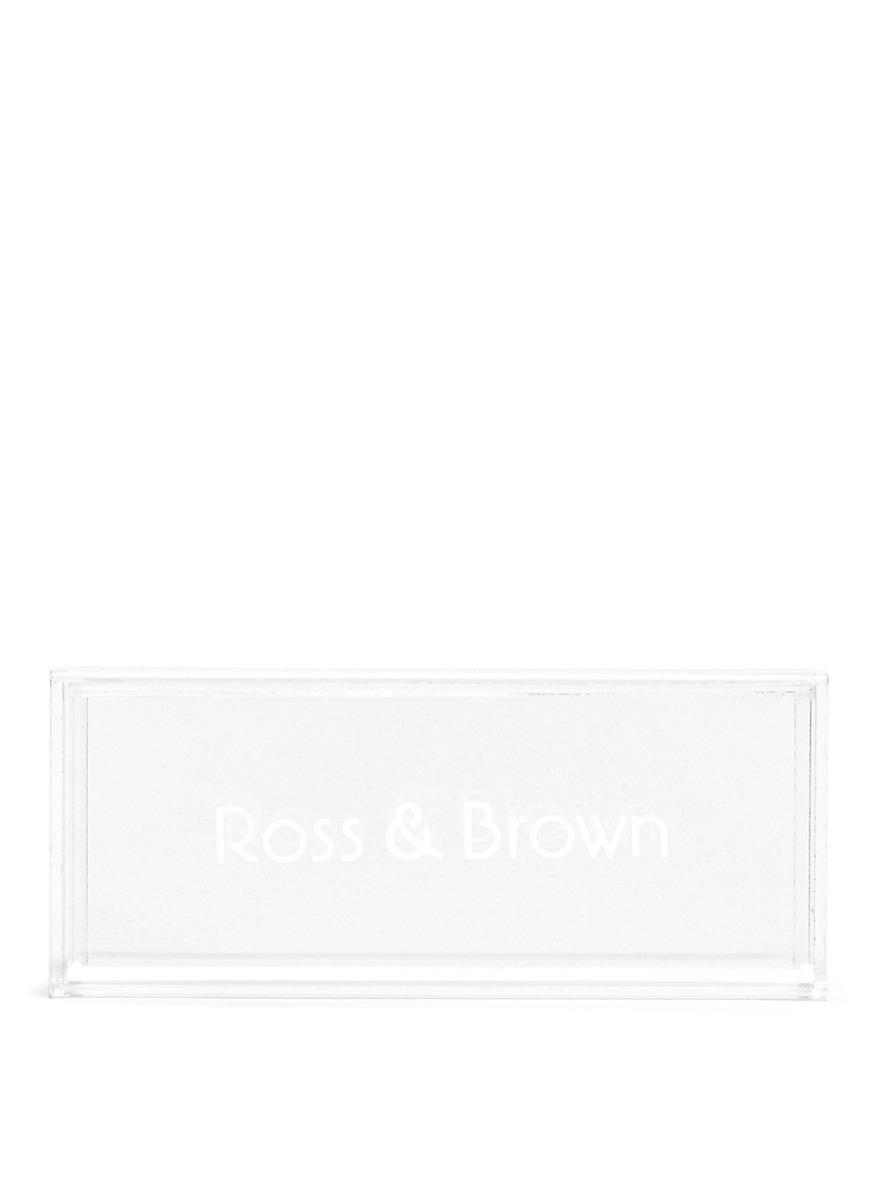 698db850ff03 Lyst - Ross   Brown  capri  Shell Effect Acetate Mirror Sunglasses ...