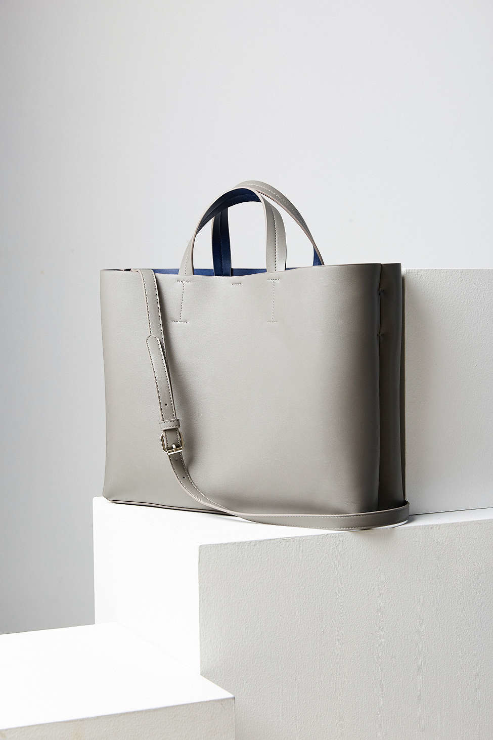 Silence + Noise. Women s Gray Jule Oversized Tote Bag. See more Leather ... ea7ad9f083bbe