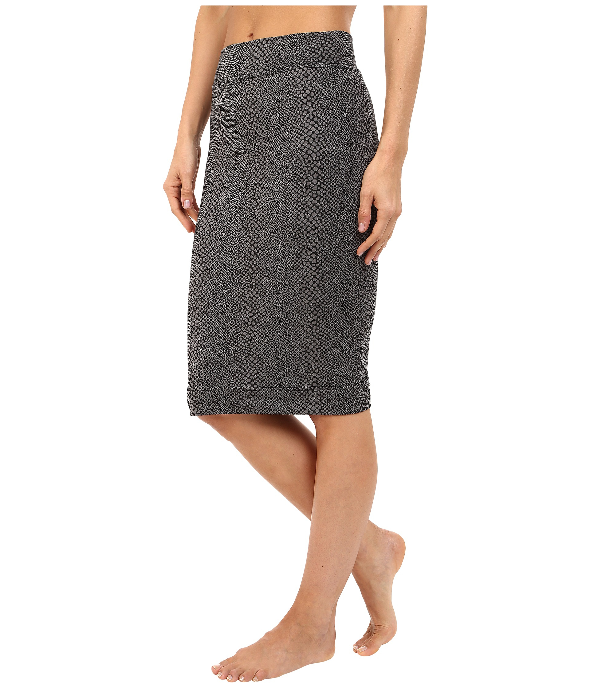 pencil skirt in gray lyst
