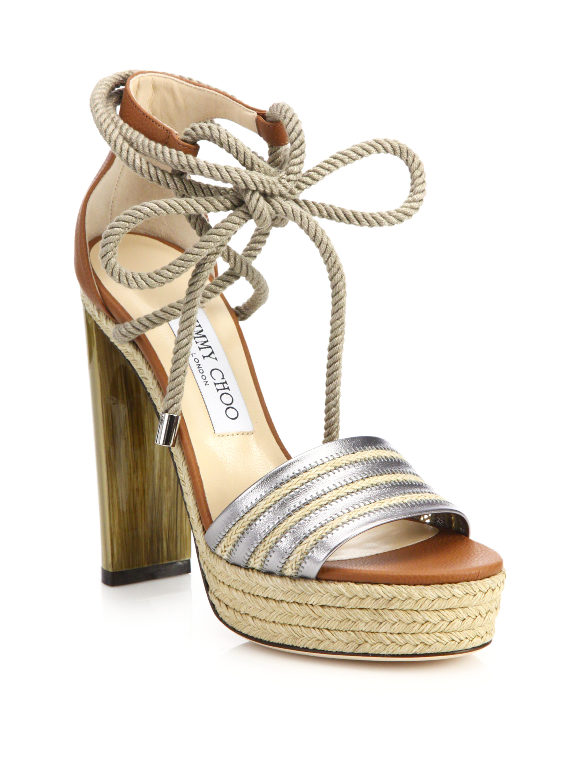 Carrie 85 raffia sandals Jimmy Choo London f7YEu2kS