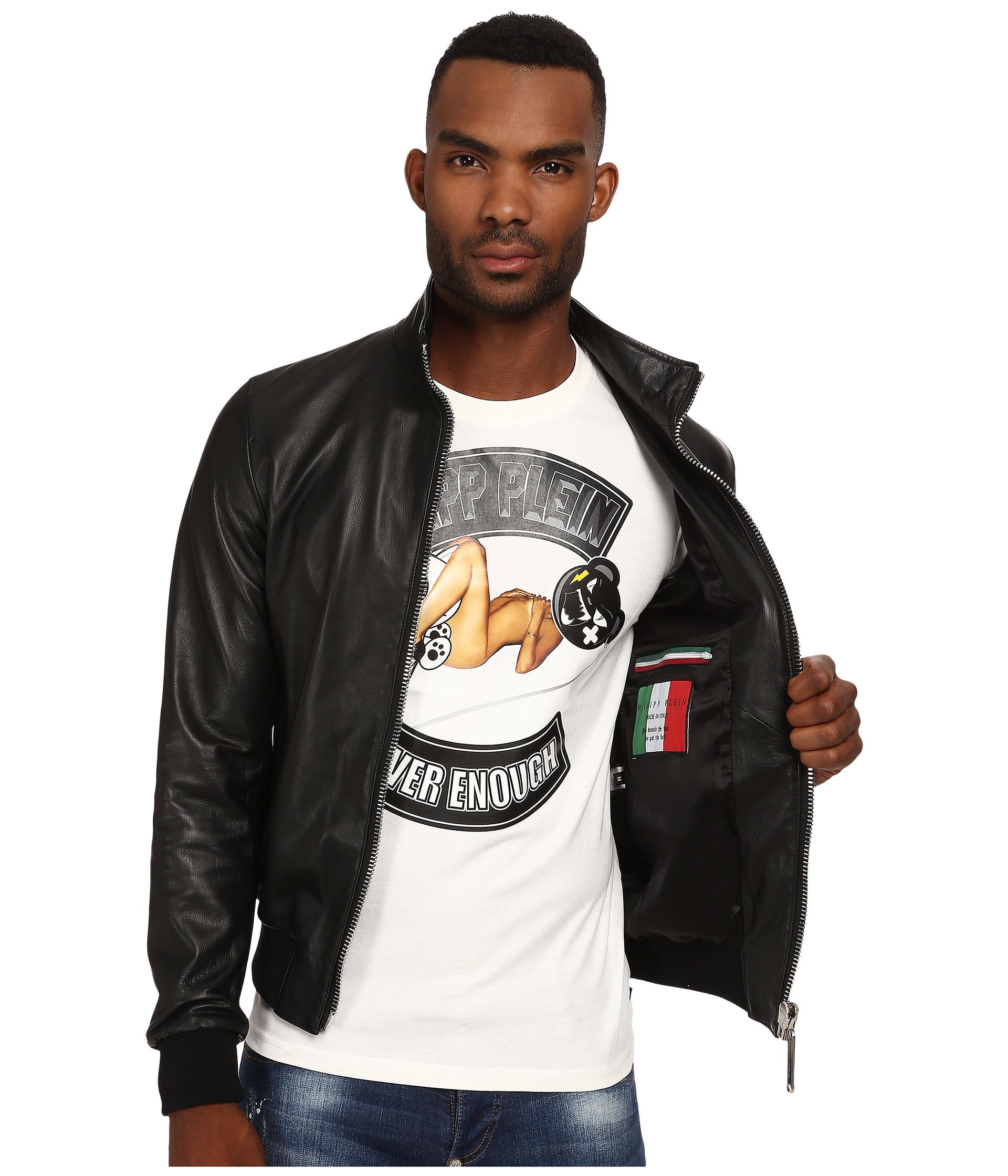 philipp plein leather