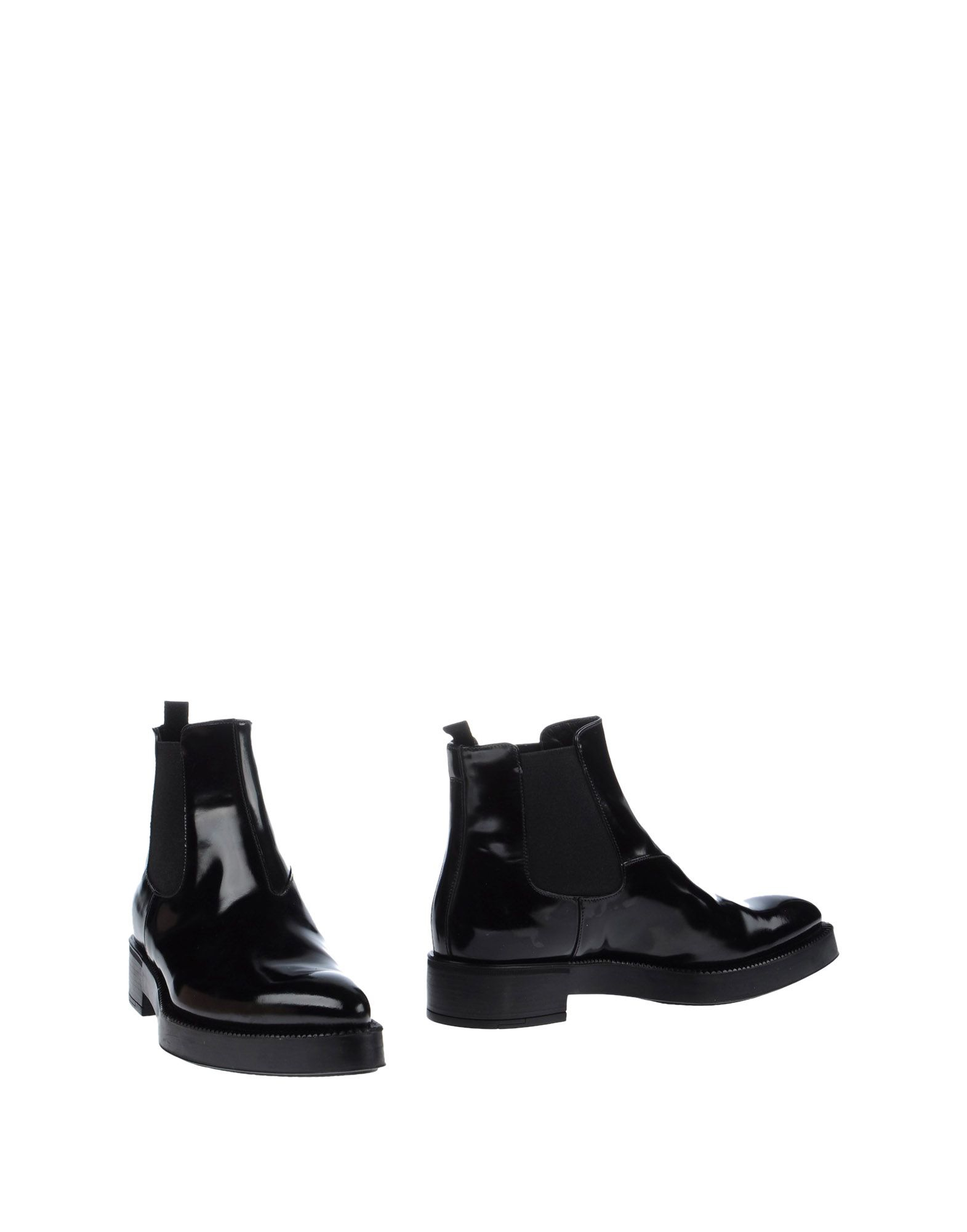 prada ankle boots in black lyst