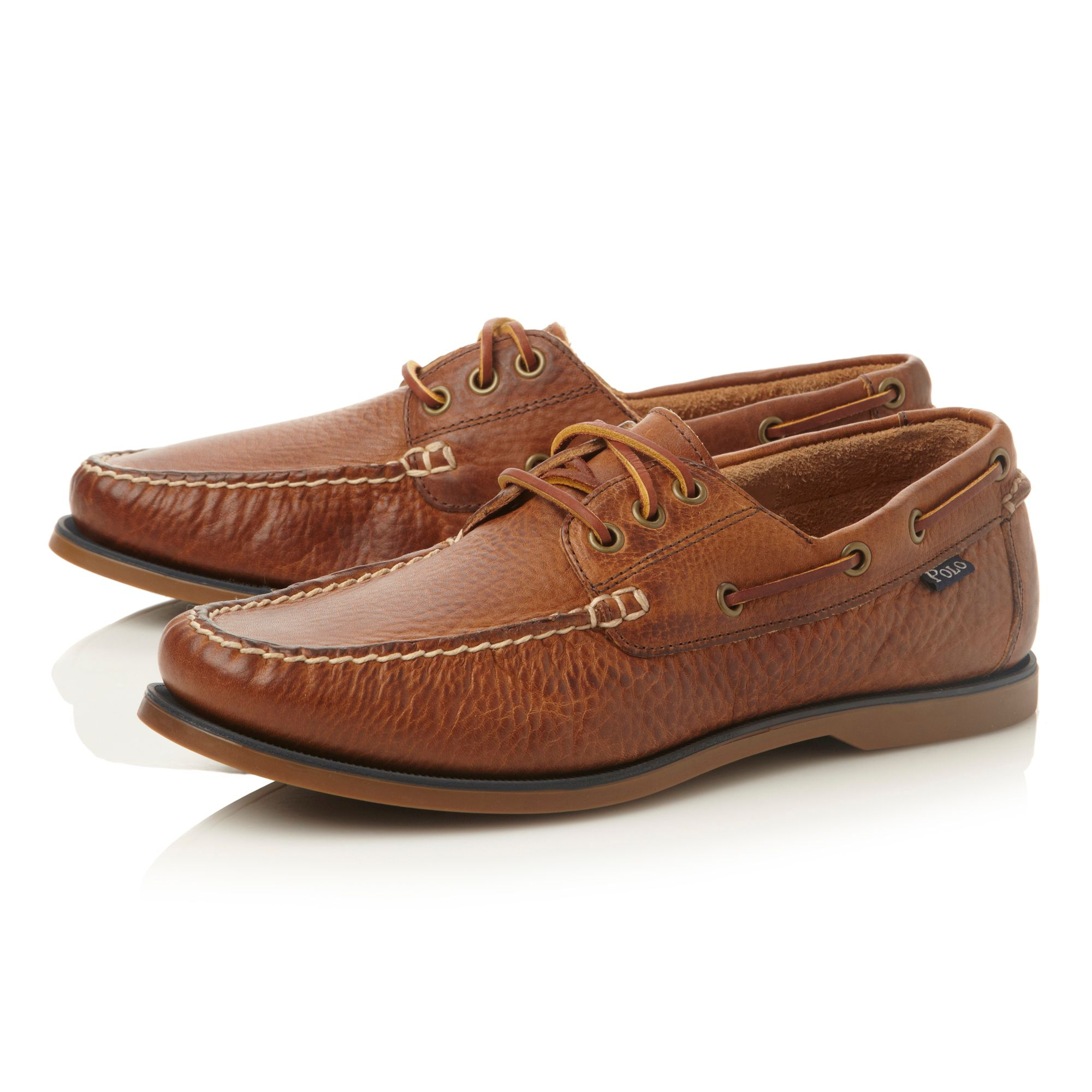 Leather Polo Boat Shoes