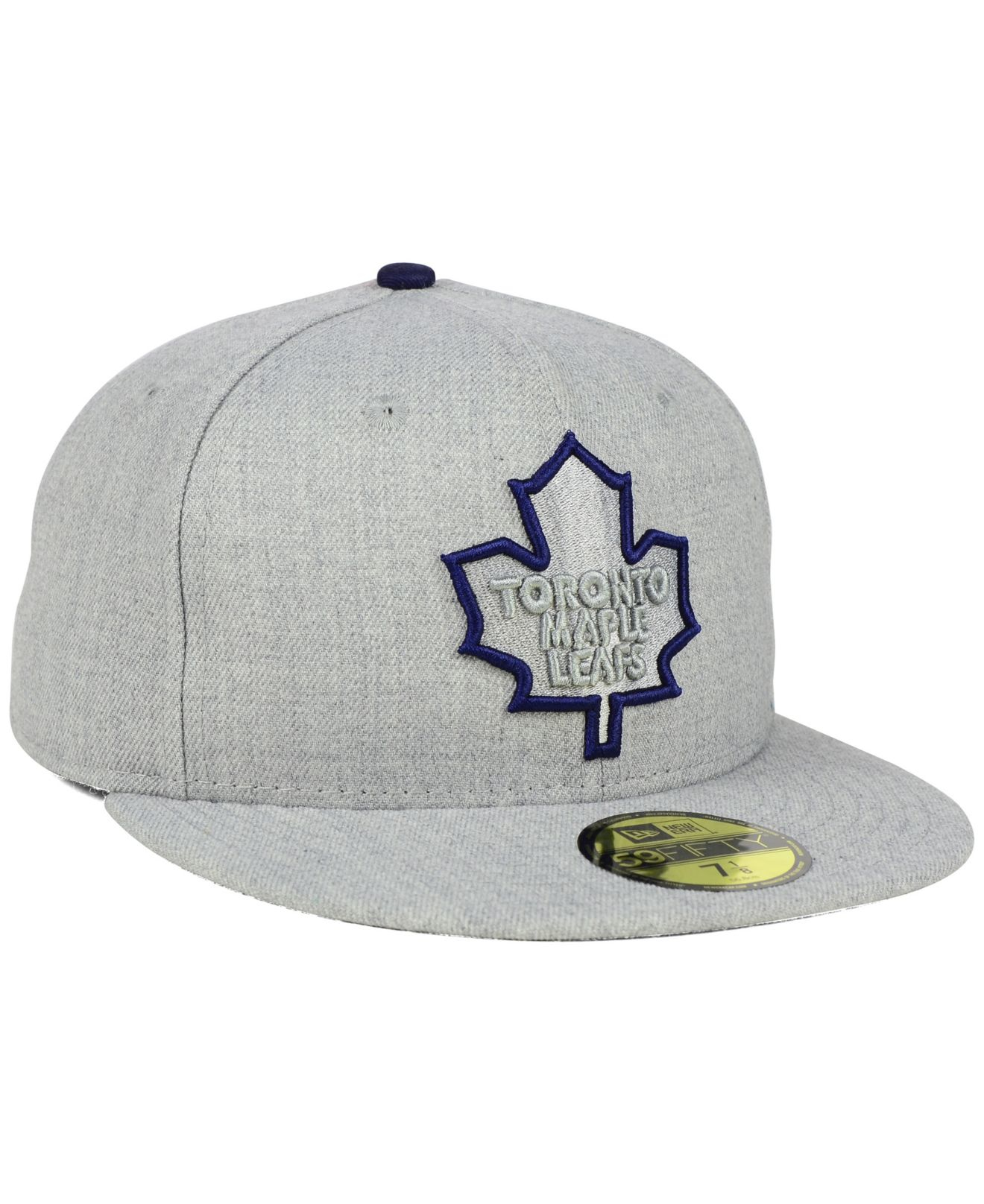 sale retailer 738a6 34cac Lyst - KTZ Toronto Maple Leafs Heather League Basic 59fifty Cap in ...