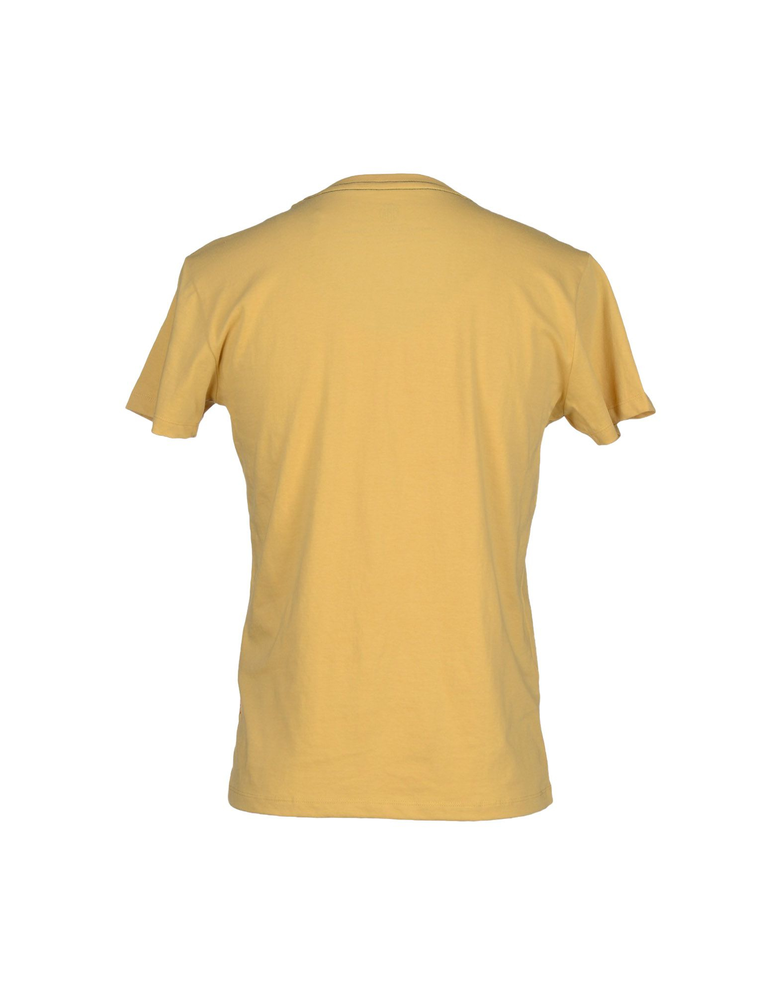 replay t shirt in yellow for men lyst. Black Bedroom Furniture Sets. Home Design Ideas