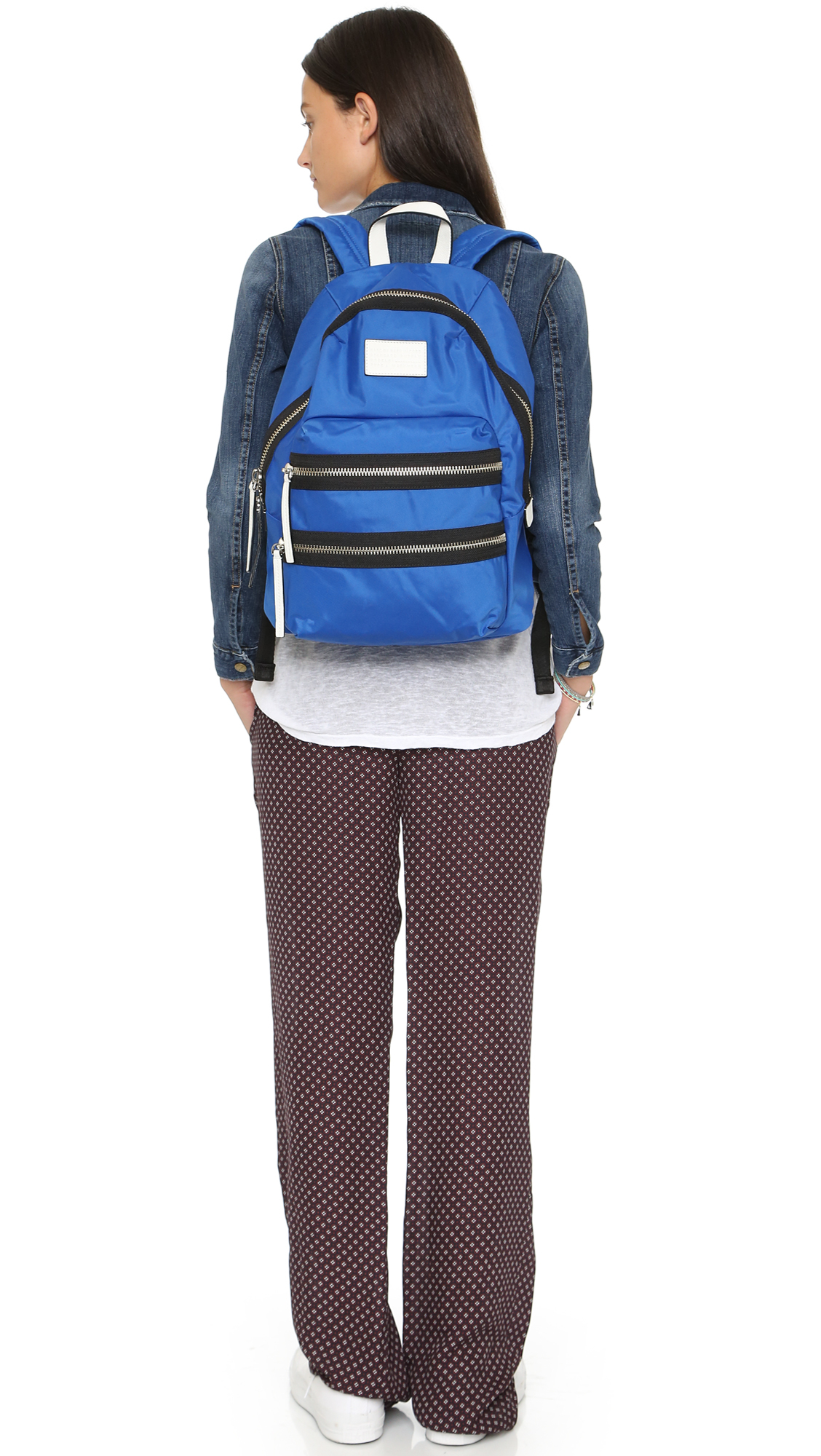 marc by marc jacobs domo arigato packrat backpack neptune blue in blue lyst. Black Bedroom Furniture Sets. Home Design Ideas