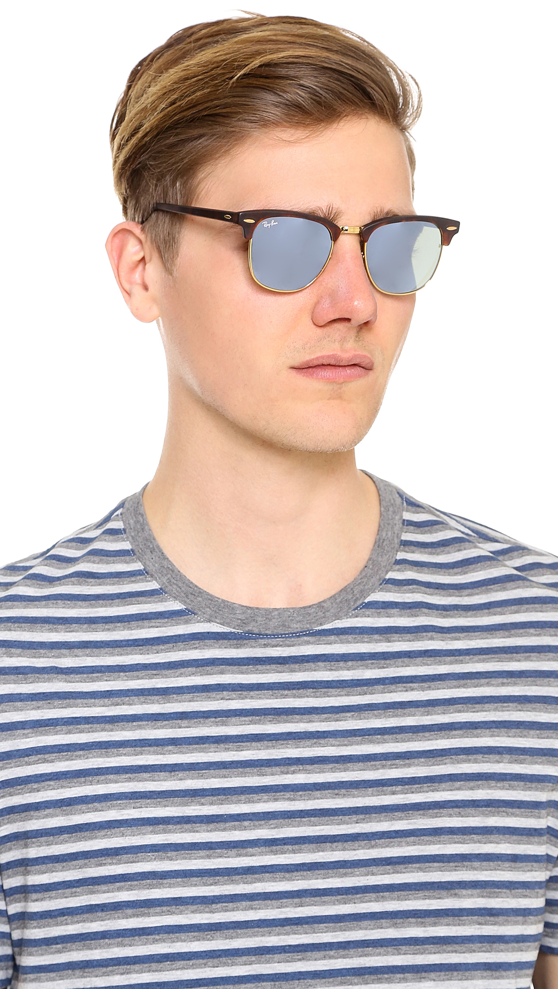 ray ban mens clubmaster  ray ban havana blue clubmaster sunglasses
