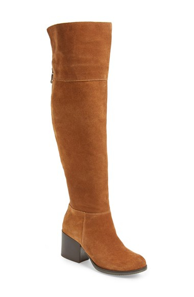 e922429ab7d Lyst - Steve Madden Orabela Knee-High Boots in Brown