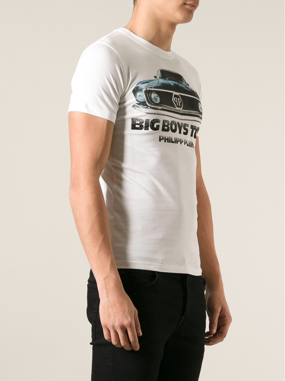 Lyst Philipp Plein Big Boys Toys Tshirt In White For Men